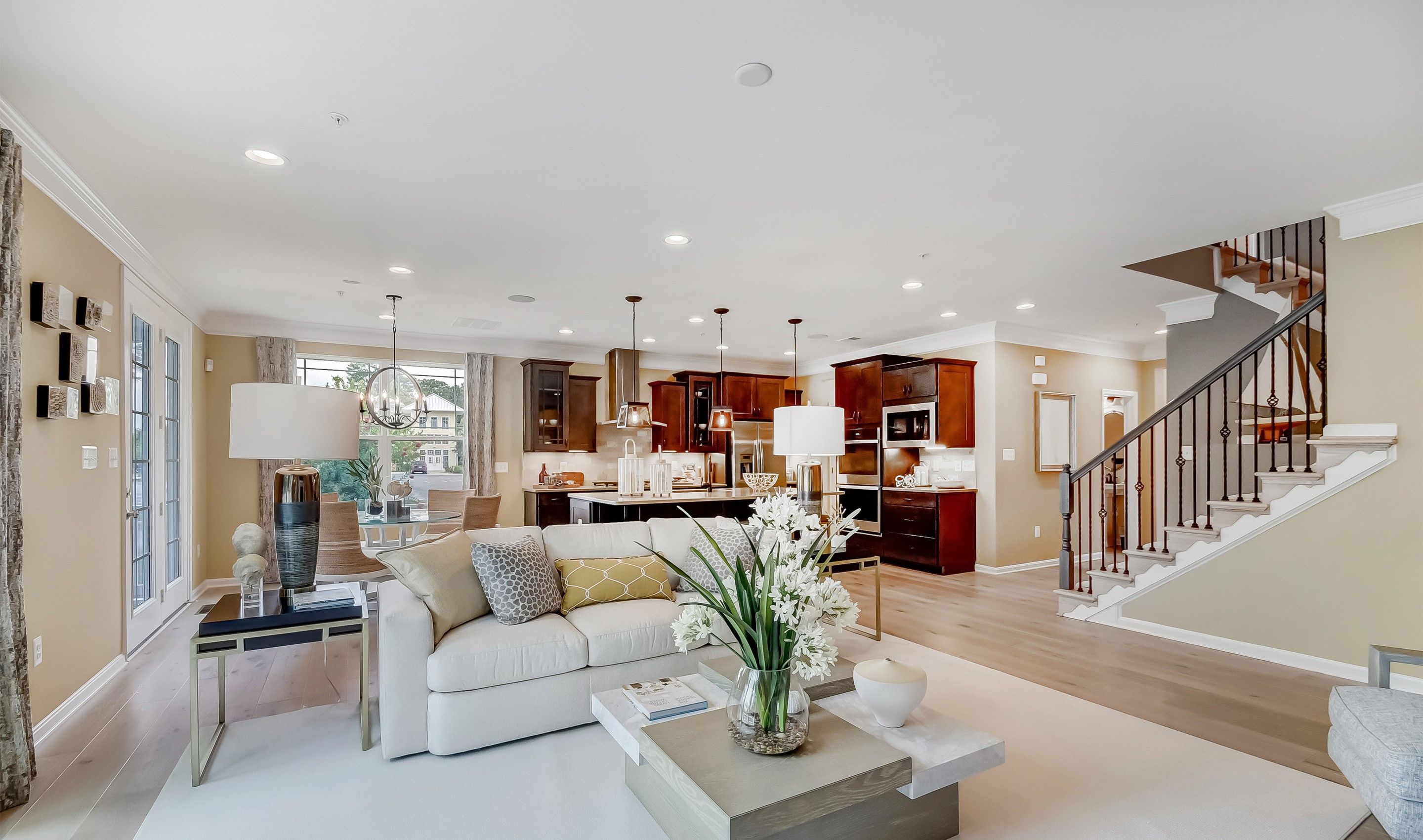 Living Area featured in the Baltimore By K. Hovnanian® Homes in Dover, DE