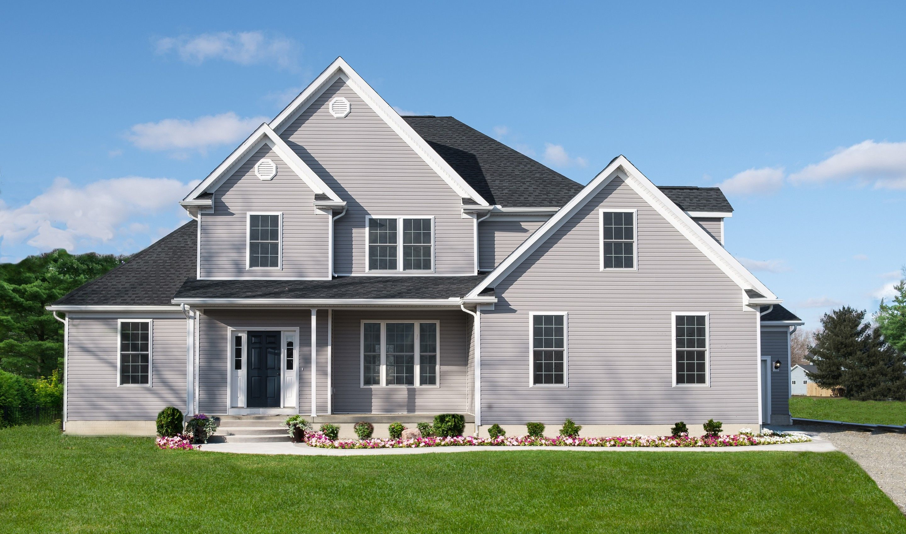 Exterior featured in the McKinley By K. Hovnanian® Homes - Build on Your Lot in Pittsburgh, PA