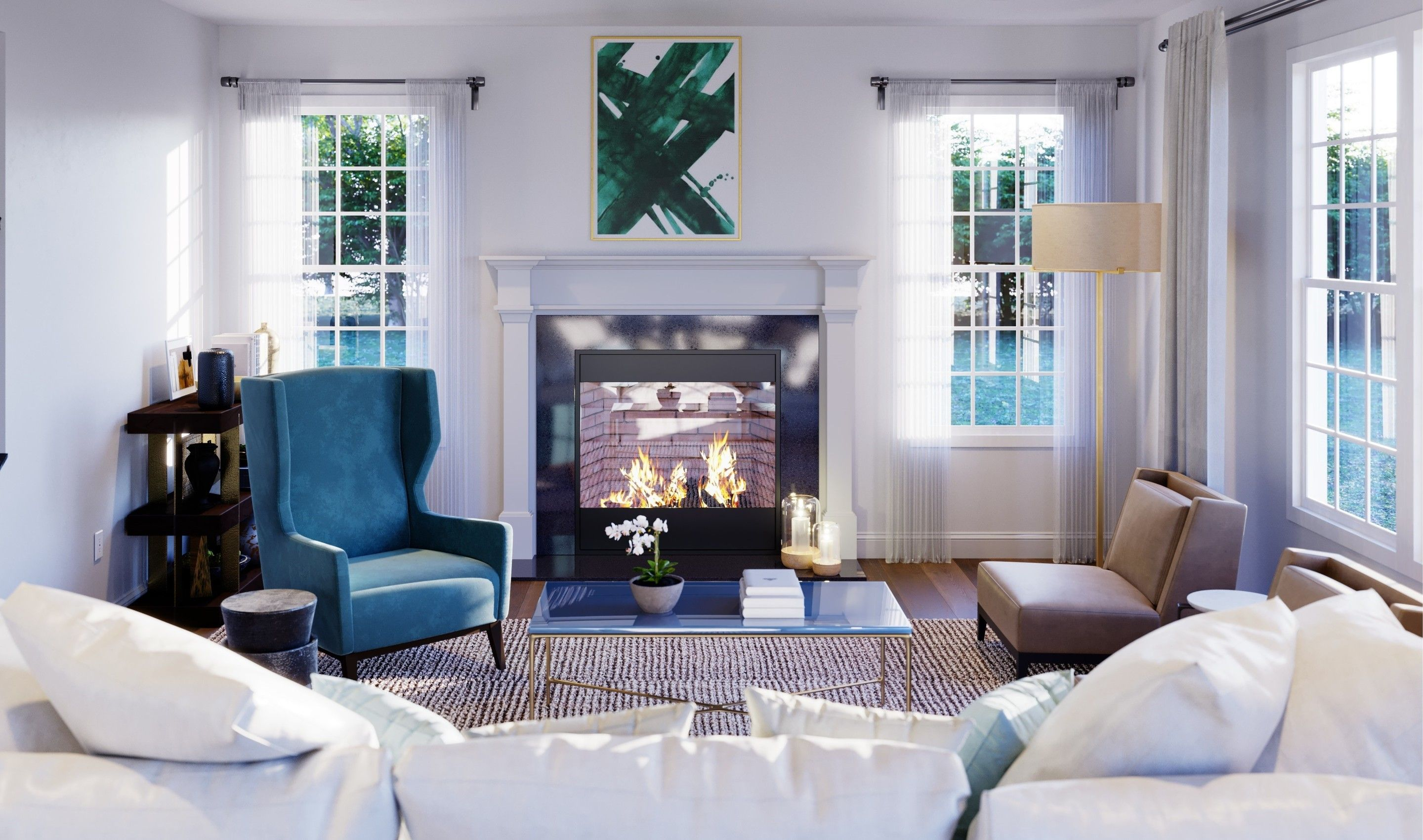 Living Area featured in the Brookdale By K. Hovnanian® Homes in Middlesex County, NJ