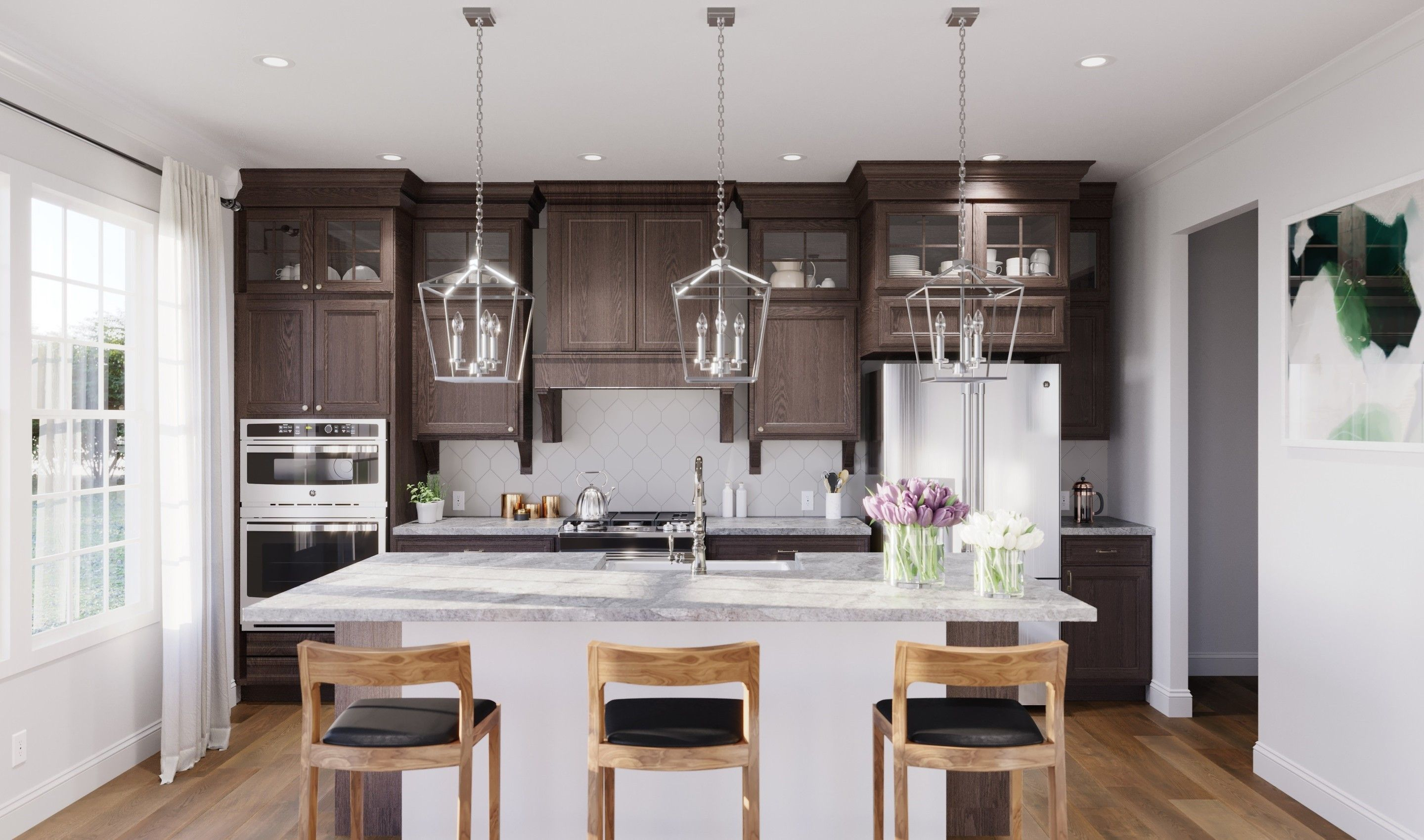 Kitchen featured in the Brookdale By K. Hovnanian® Homes in Monmouth County, NJ