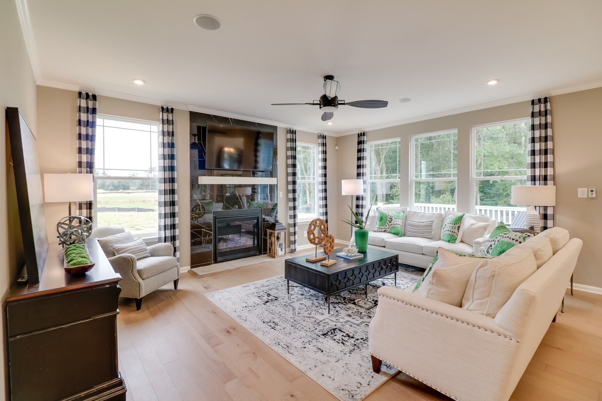 Living Area featured in the Eastwood By K. Hovnanian's® Four Seasons in Sussex, DE