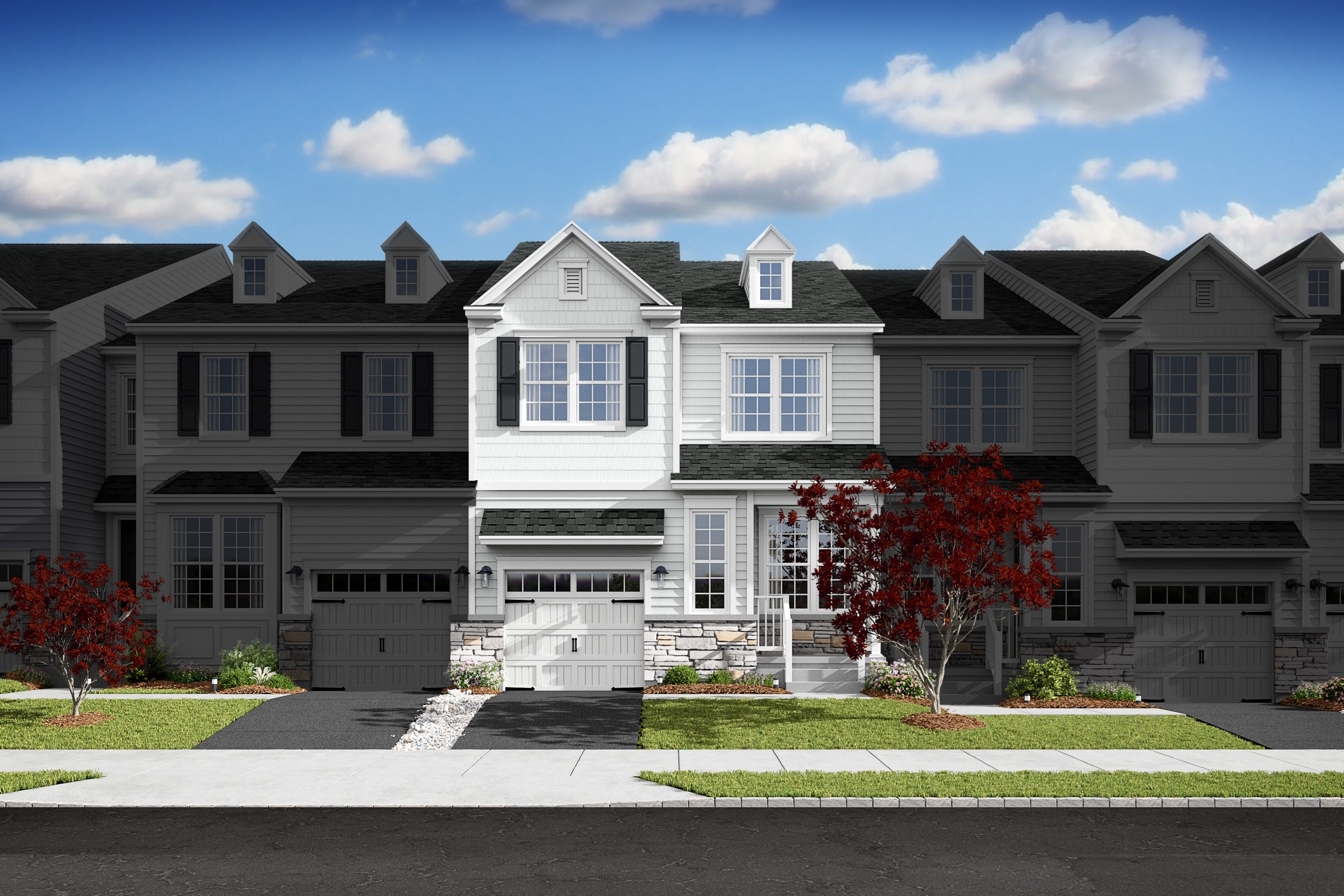 Exterior featured in the Albright III By K. Hovnanian® Homes in Monmouth County, NJ