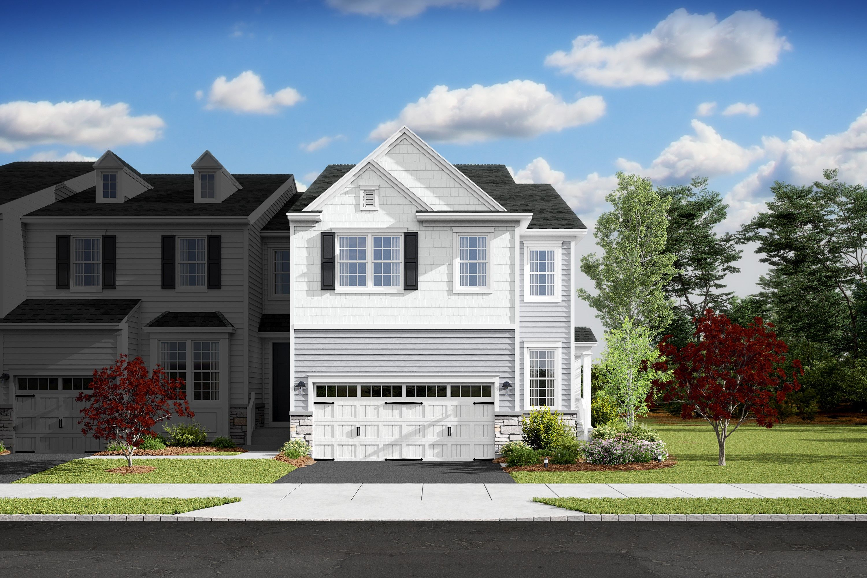 Exterior featured in the Fordham By K. Hovnanian® Homes in Monmouth County, NJ