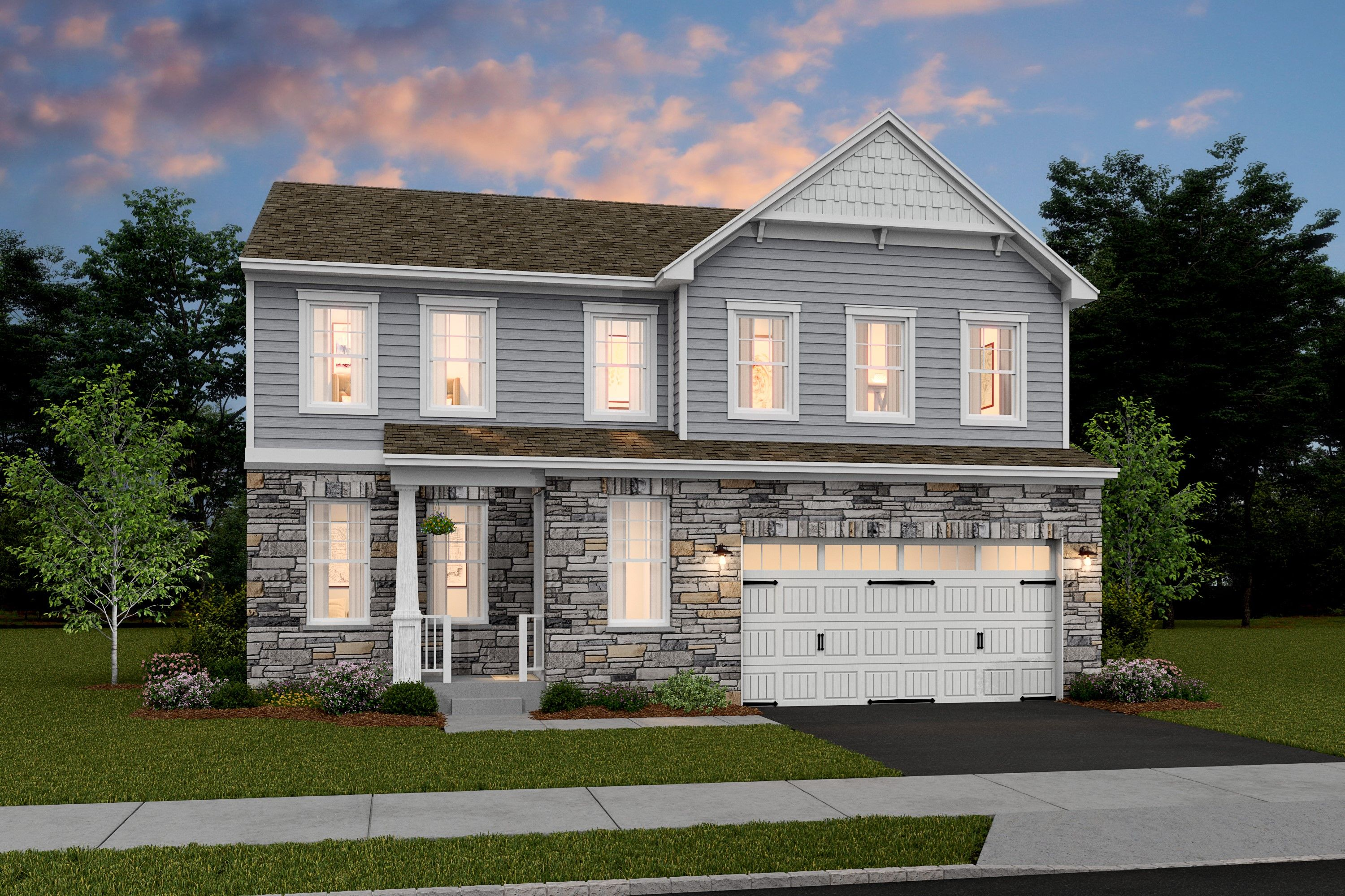 Exterior featured in the Hanover By K. Hovnanian® Homes in Middlesex County, NJ