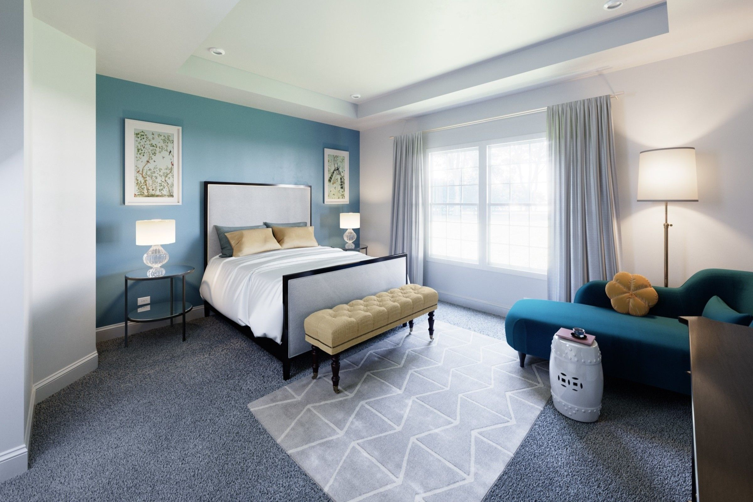 Bedroom featured in the Hanover By K. Hovnanian® Homes in Middlesex County, NJ