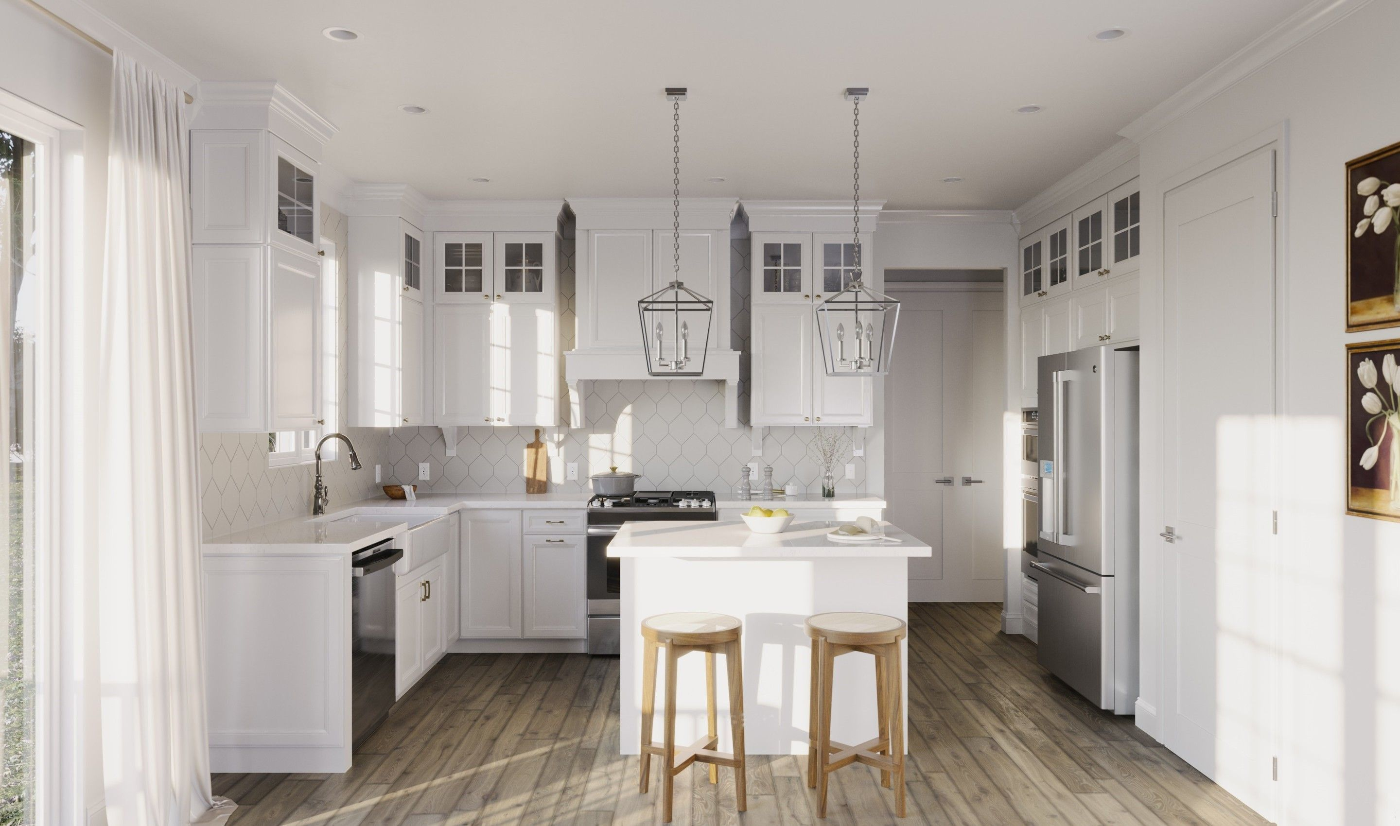 Kitchen featured in the Hanover By K. Hovnanian® Homes in Monmouth County, NJ