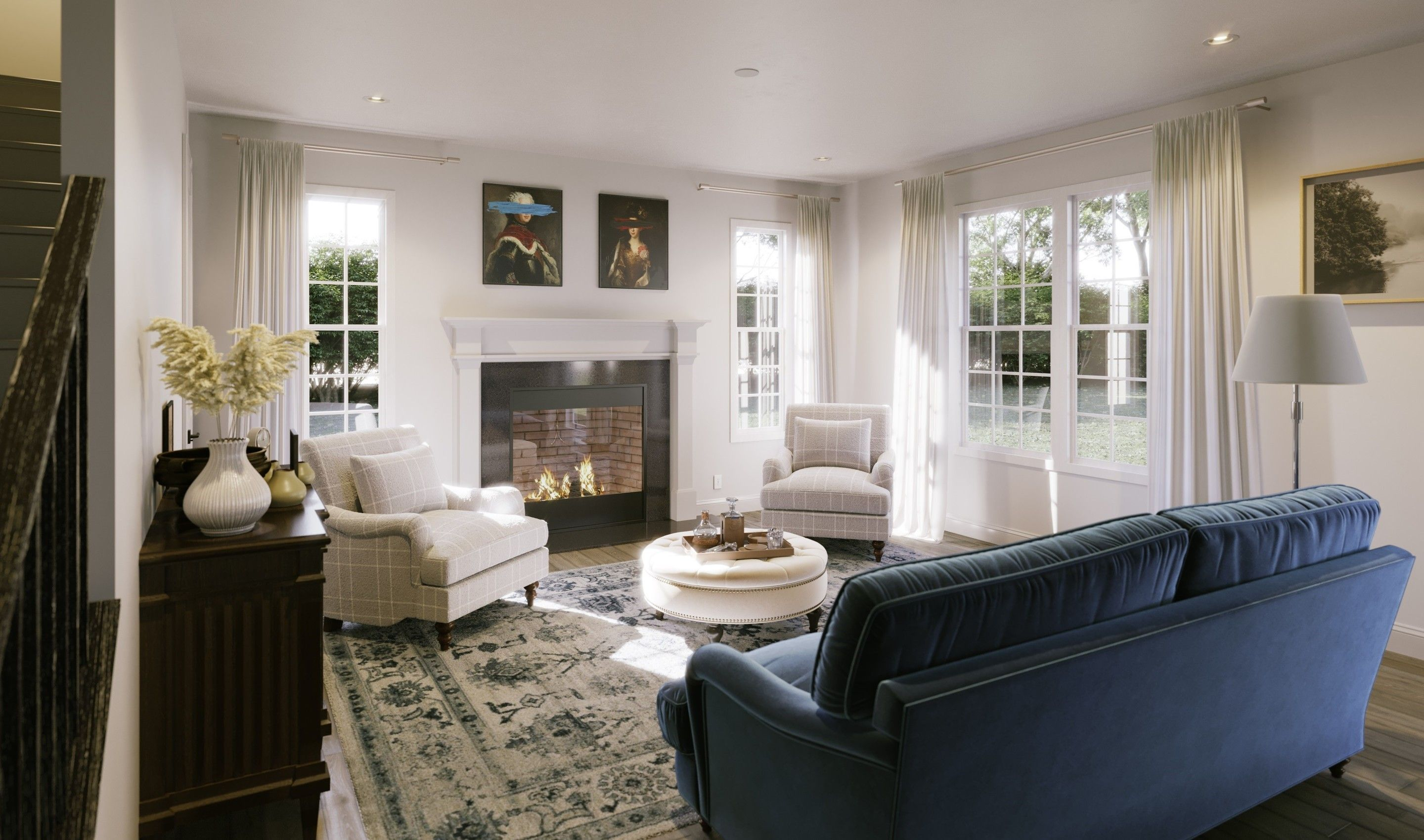 Living Area featured in the Hanover By K. Hovnanian® Homes in Middlesex County, NJ