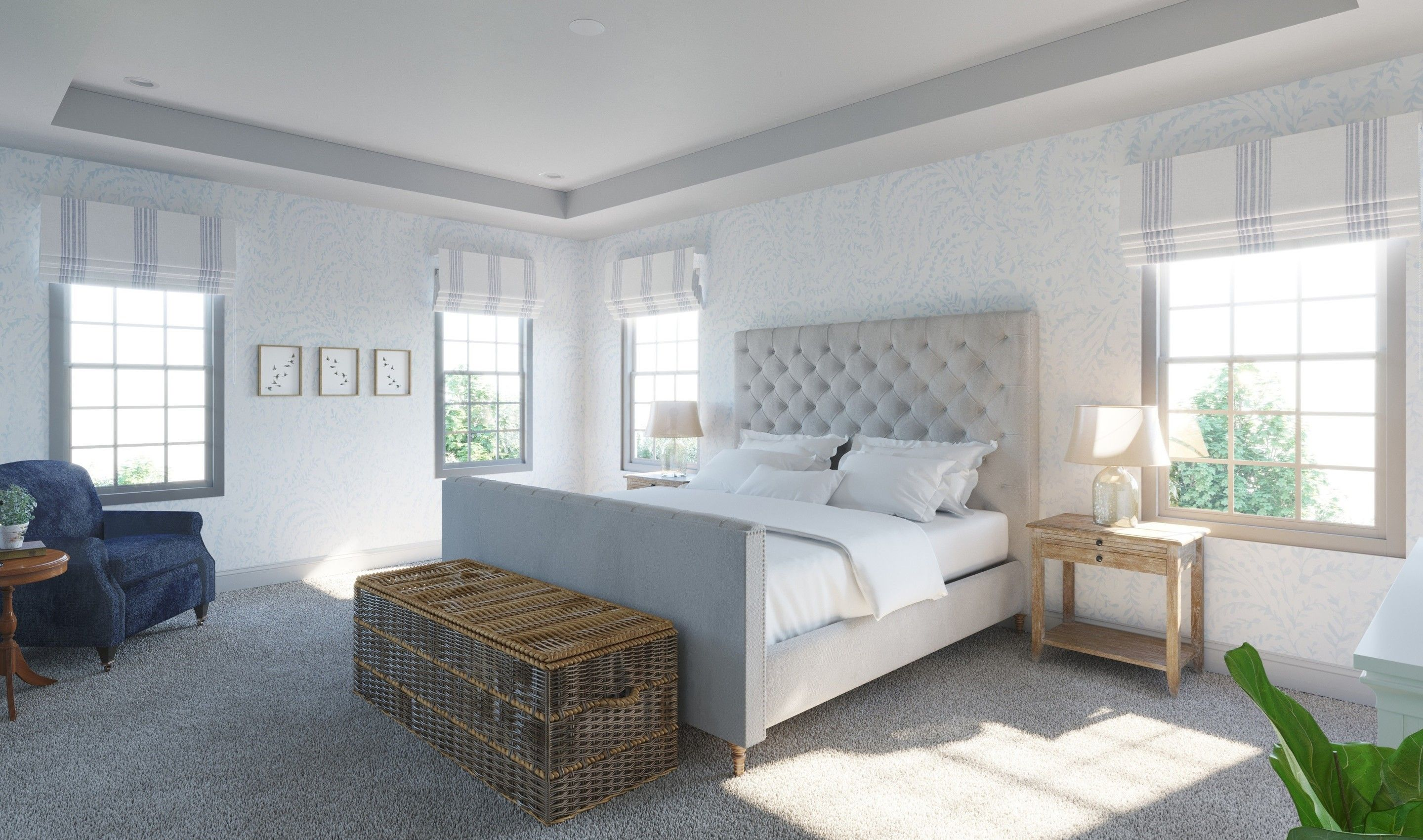 Bedroom featured in the Peachtree II By K. Hovnanian® Homes in Middlesex County, NJ