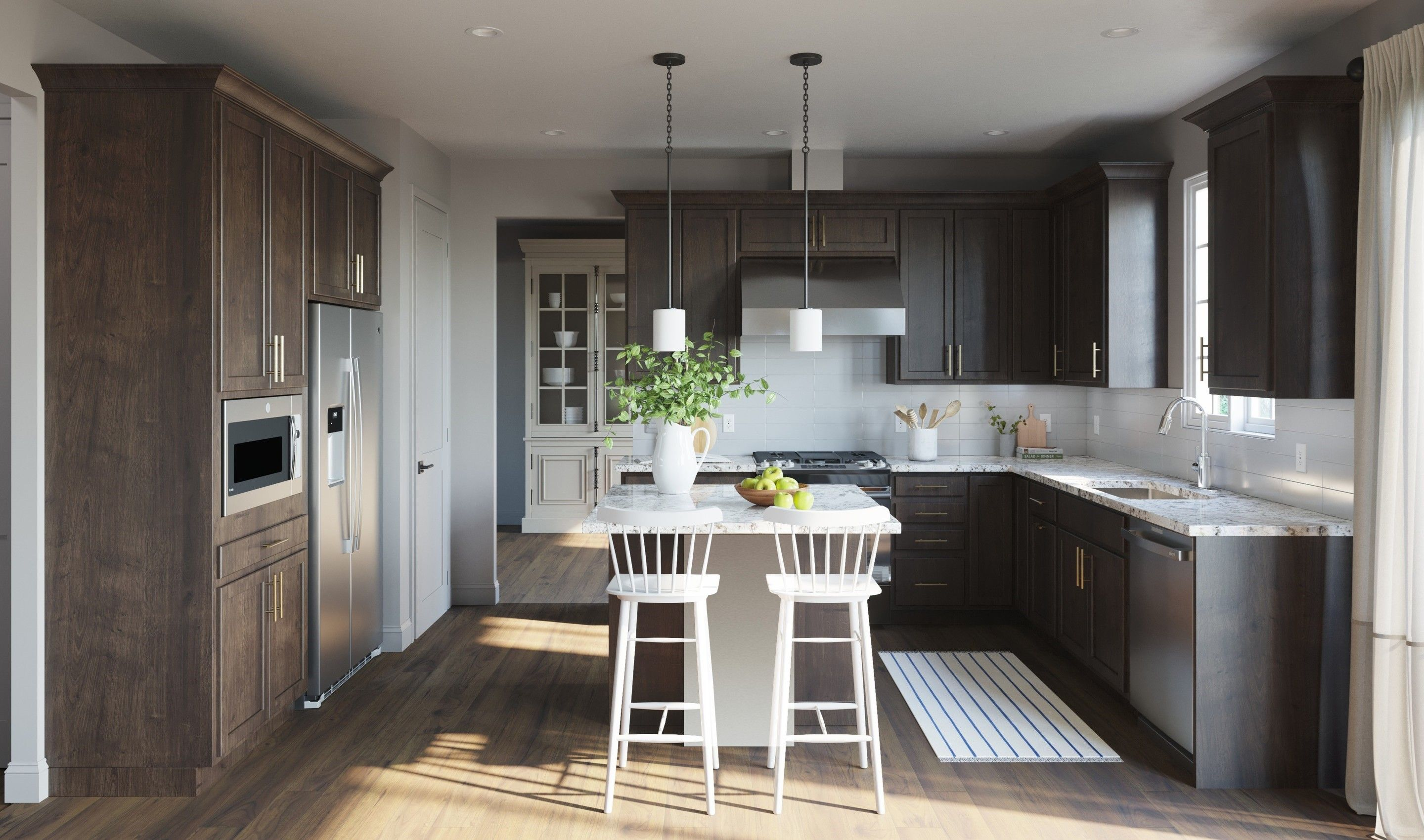 Kitchen featured in the Peachtree II By K. Hovnanian® Homes in Middlesex County, NJ