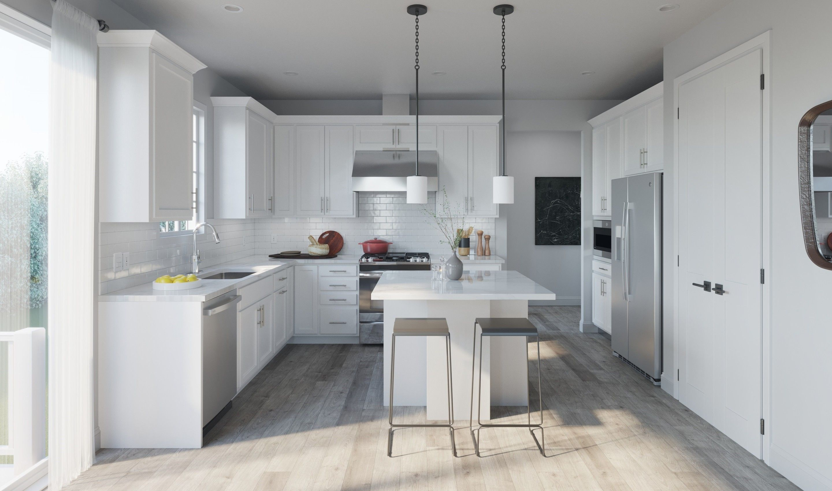 Kitchen featured in the Tomasen By K. Hovnanian® Homes in Middlesex County, NJ
