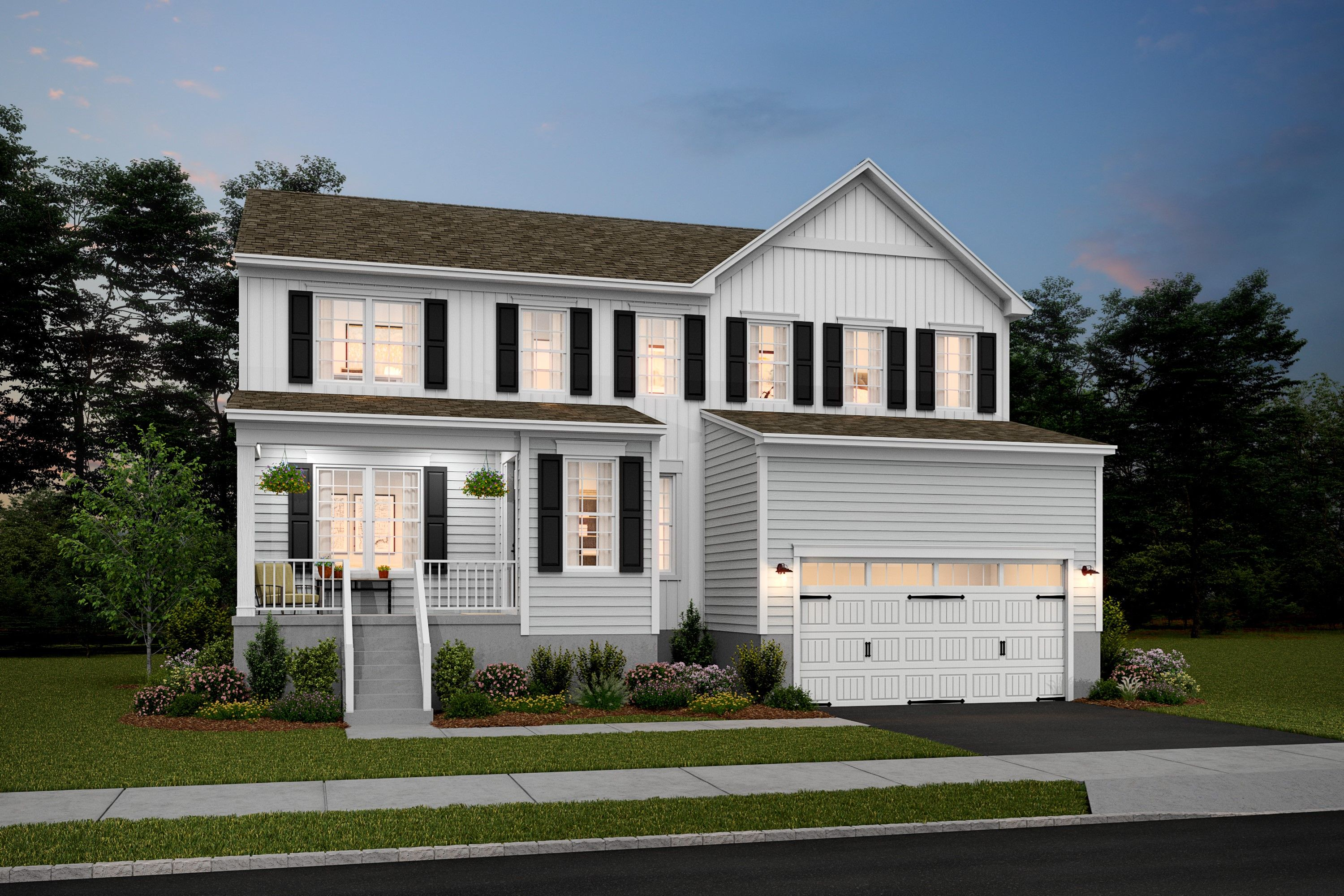 Exterior featured in the Hancock V By K. Hovnanian® Homes in Middlesex County, NJ