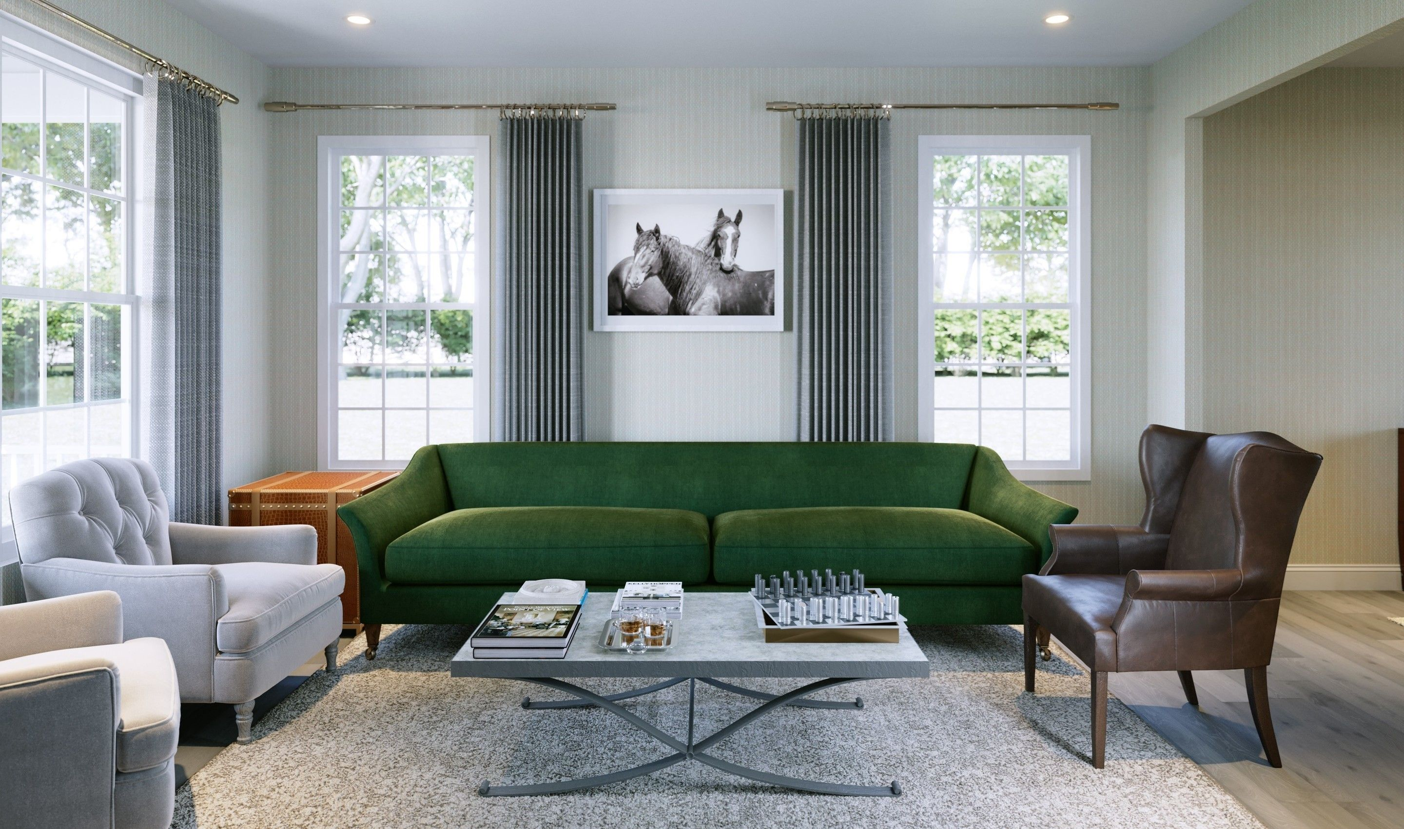Living Area featured in the Hancock V By K. Hovnanian® Homes in Middlesex County, NJ
