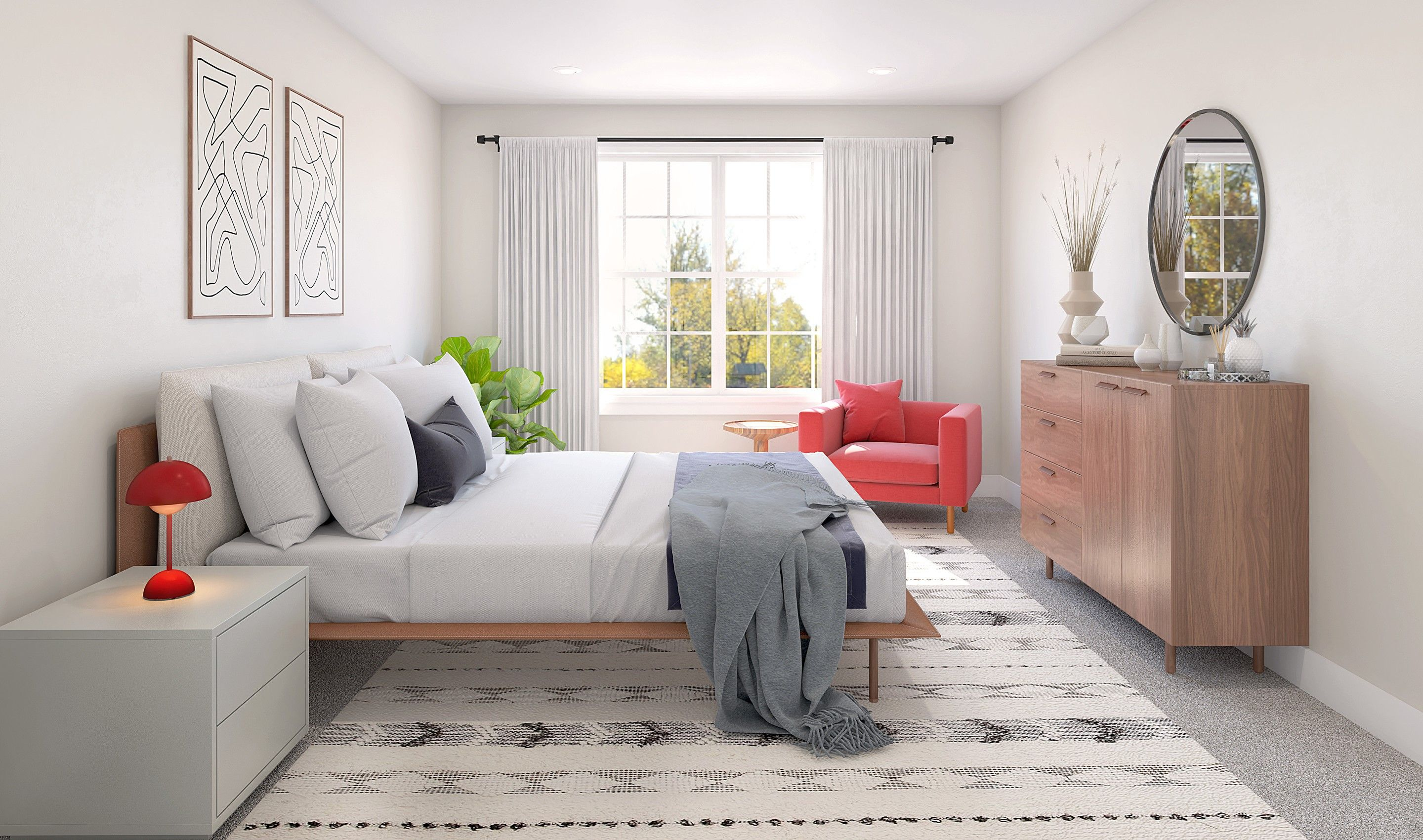 Bedroom featured in the Albright III By K. Hovnanian® Homes in Monmouth County, NJ