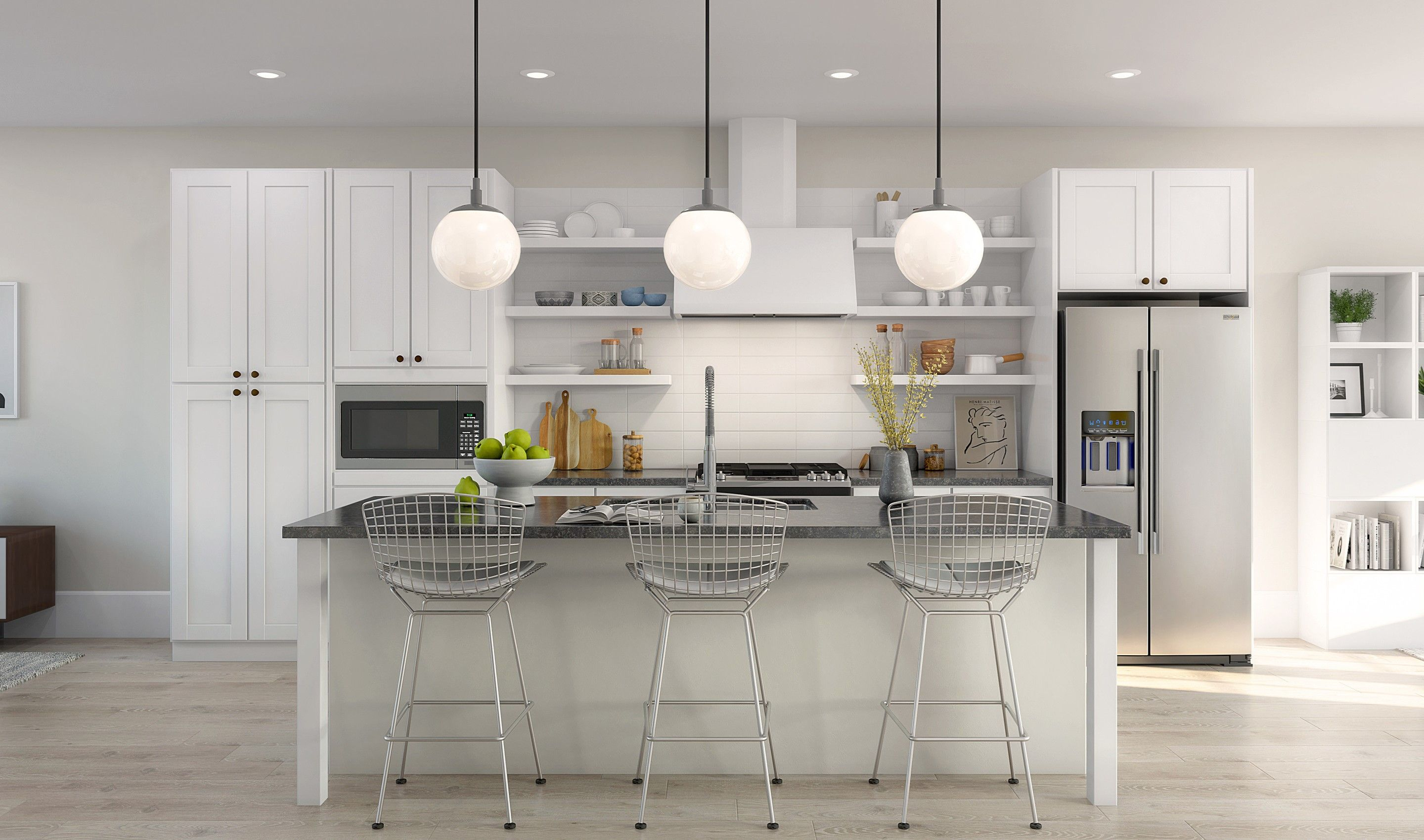Kitchen featured in the Albright III By K. Hovnanian® Homes in Monmouth County, NJ