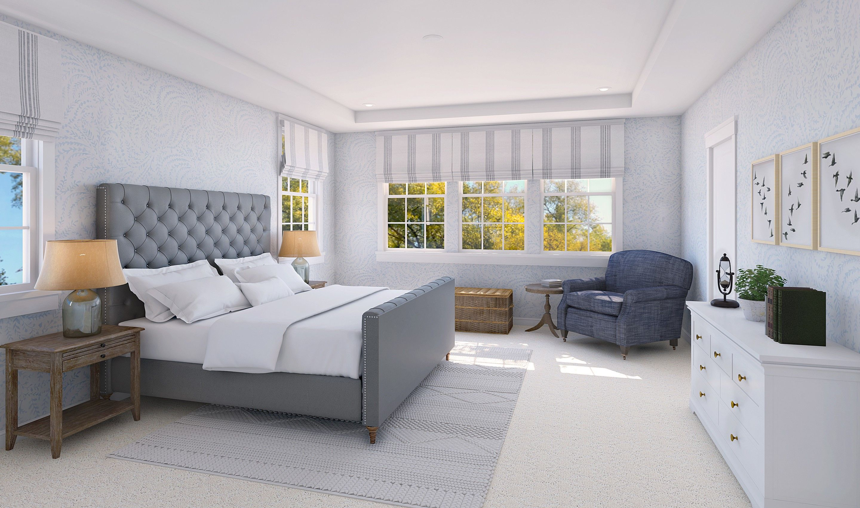 Bedroom featured in the Fordham By K. Hovnanian® Homes in Monmouth County, NJ