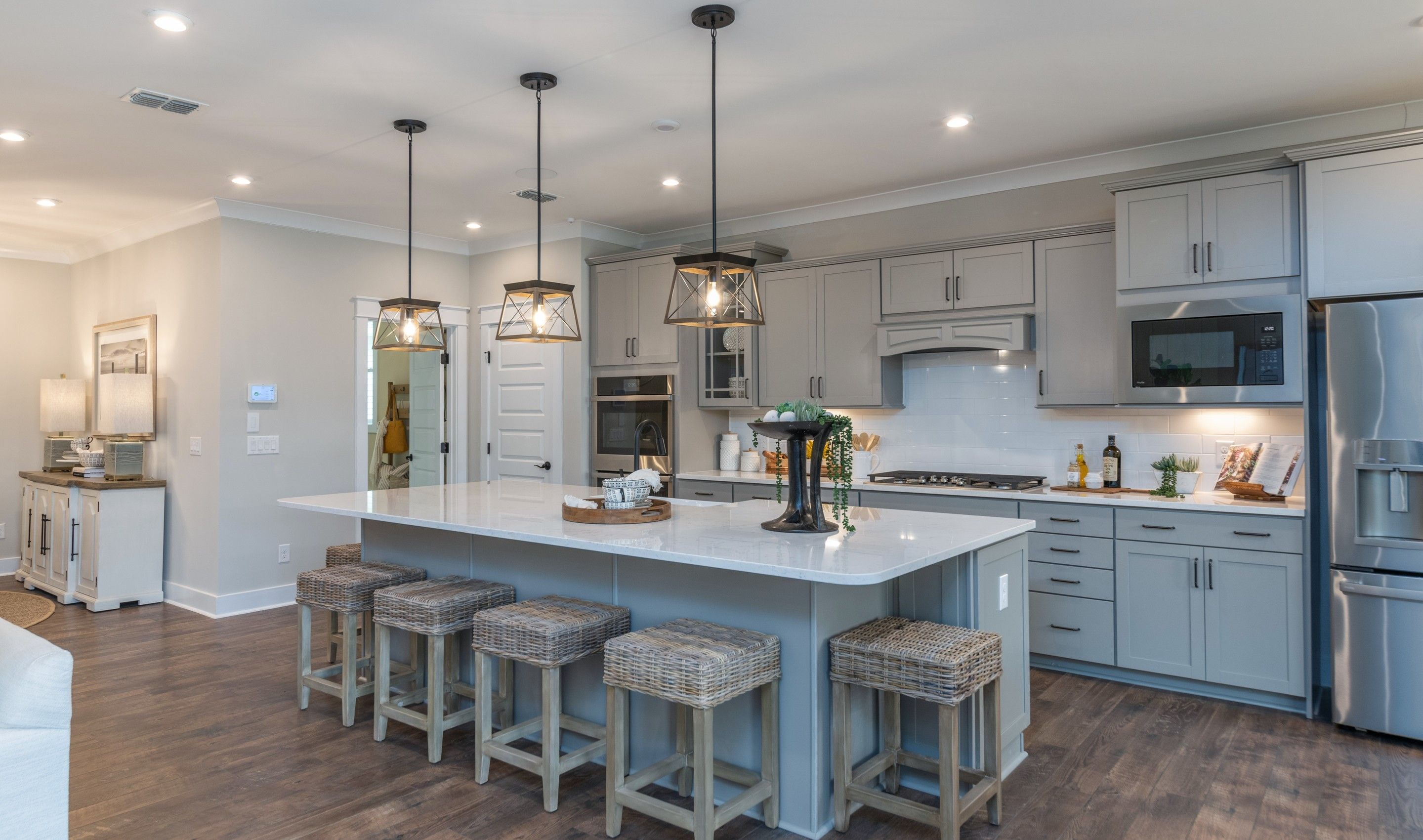 Kitchen featured in the Ibiza Loft By K. Hovnanian's® Four Seasons in Hilton Head, SC