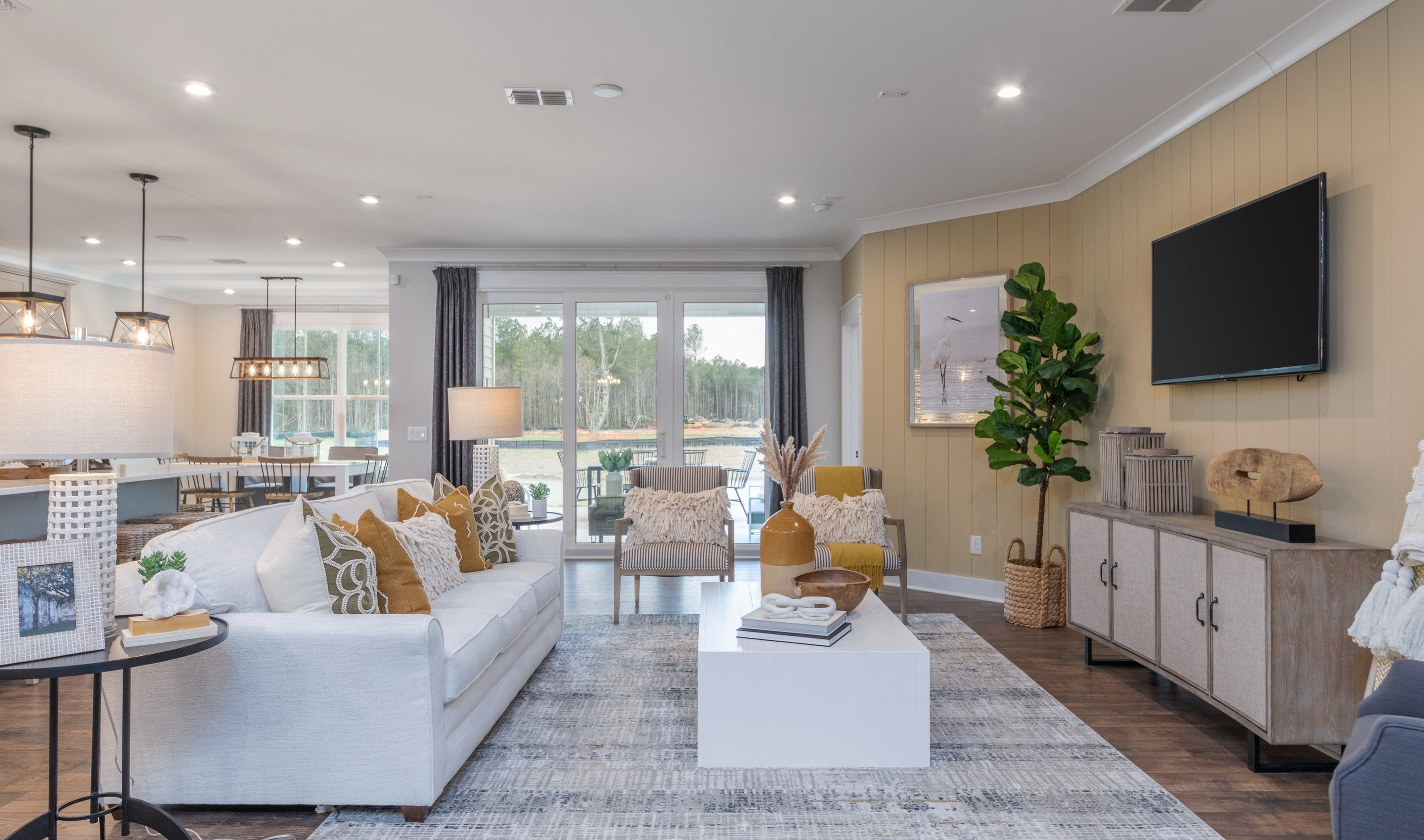 Living Area featured in the Ibiza Loft By K. Hovnanian's® Four Seasons in Hilton Head, SC