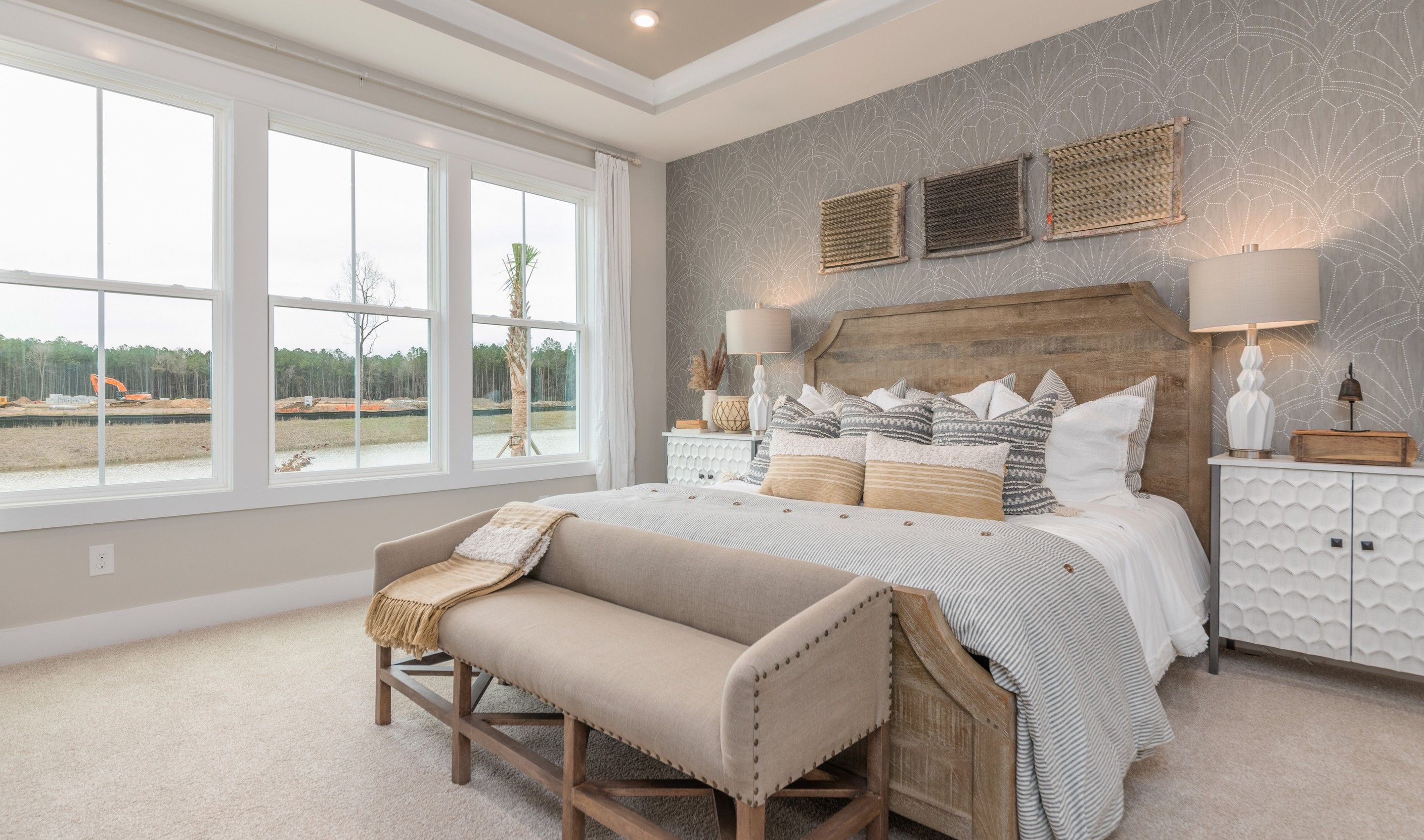 Bedroom featured in the Ibiza Loft By K. Hovnanian's® Four Seasons in Hilton Head, SC