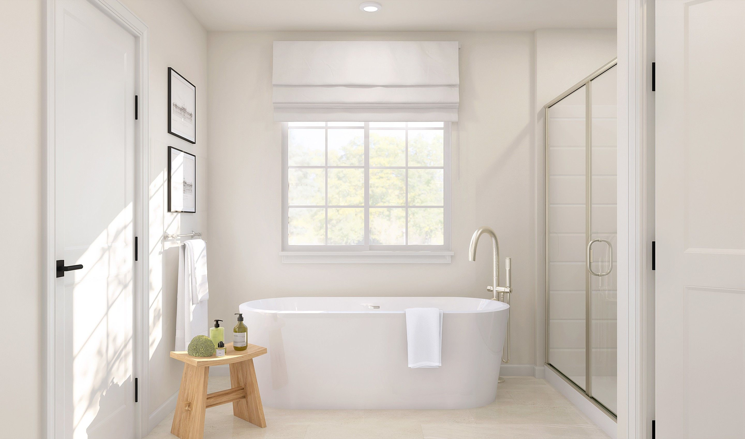 Bathroom featured in the Haverford By K. Hovnanian® Homes in Monmouth County, NJ