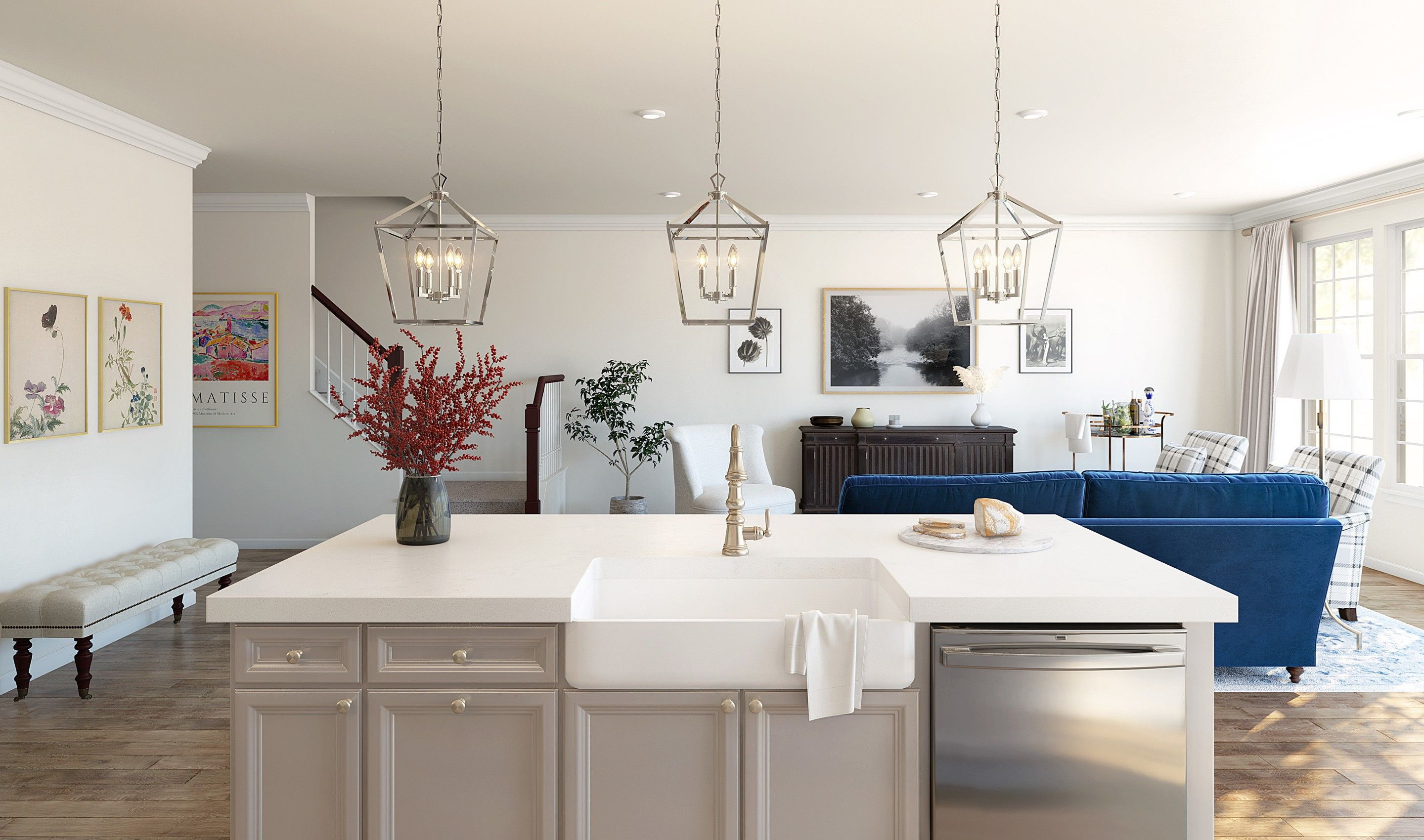 Kitchen featured in the Haverford By K. Hovnanian® Homes in Monmouth County, NJ