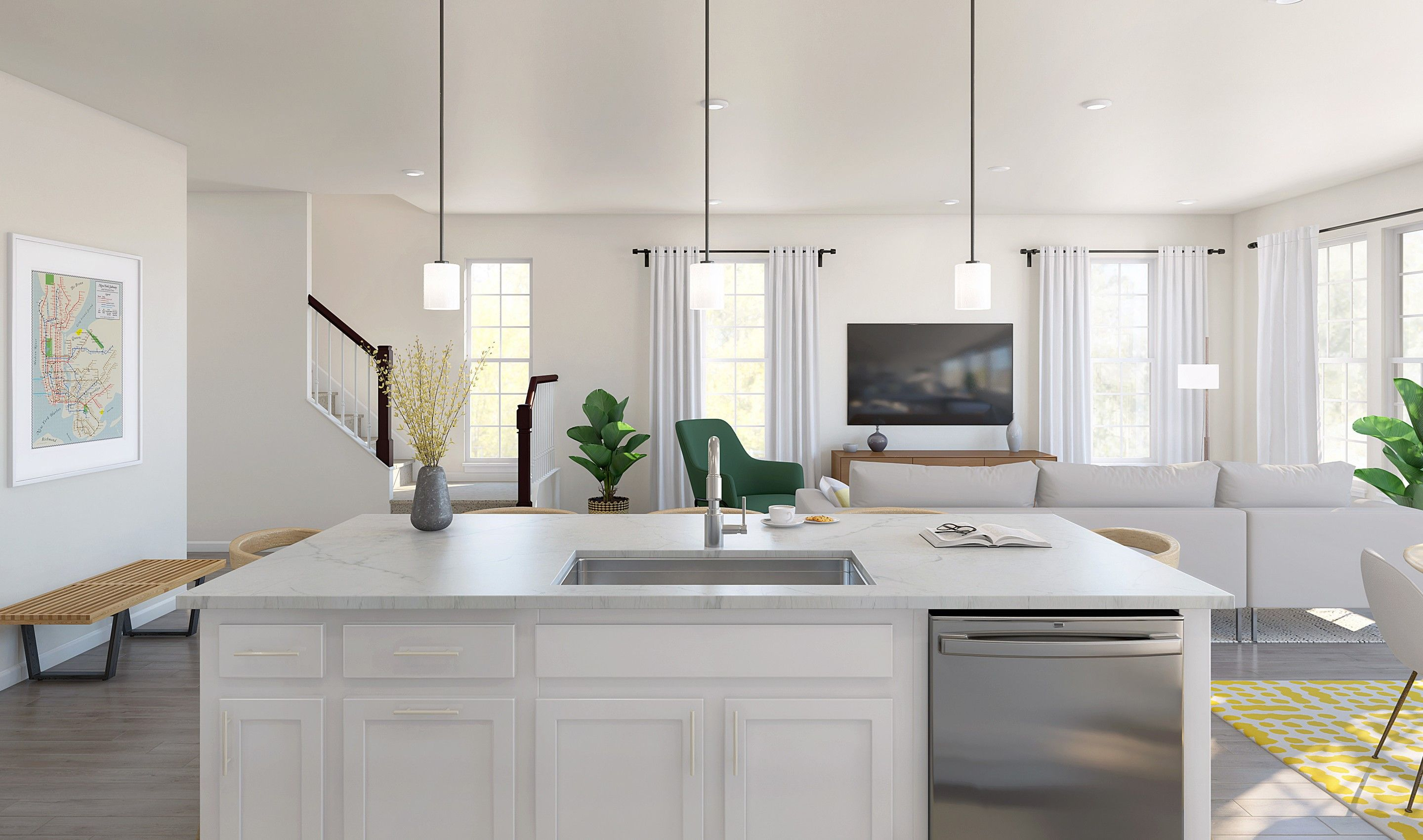 Kitchen featured in the Howard By K. Hovnanian® Homes in Monmouth County, NJ