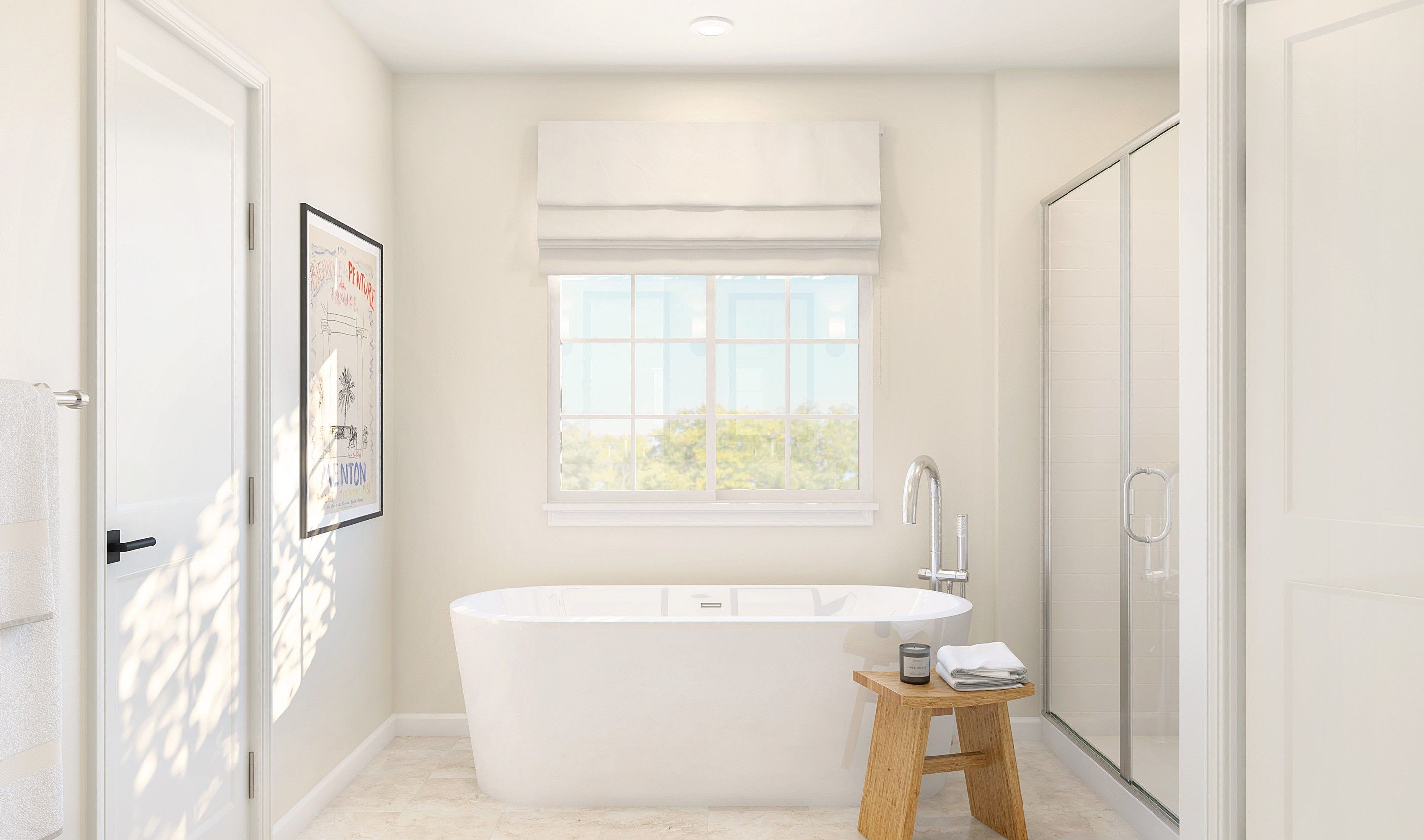 Bathroom featured in the Howard By K. Hovnanian® Homes in Monmouth County, NJ