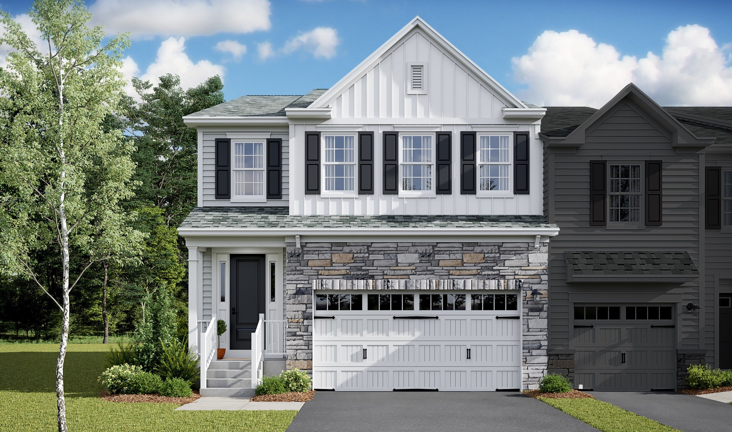 Exterior featured in the Howard By K. Hovnanian® Homes in Monmouth County, NJ