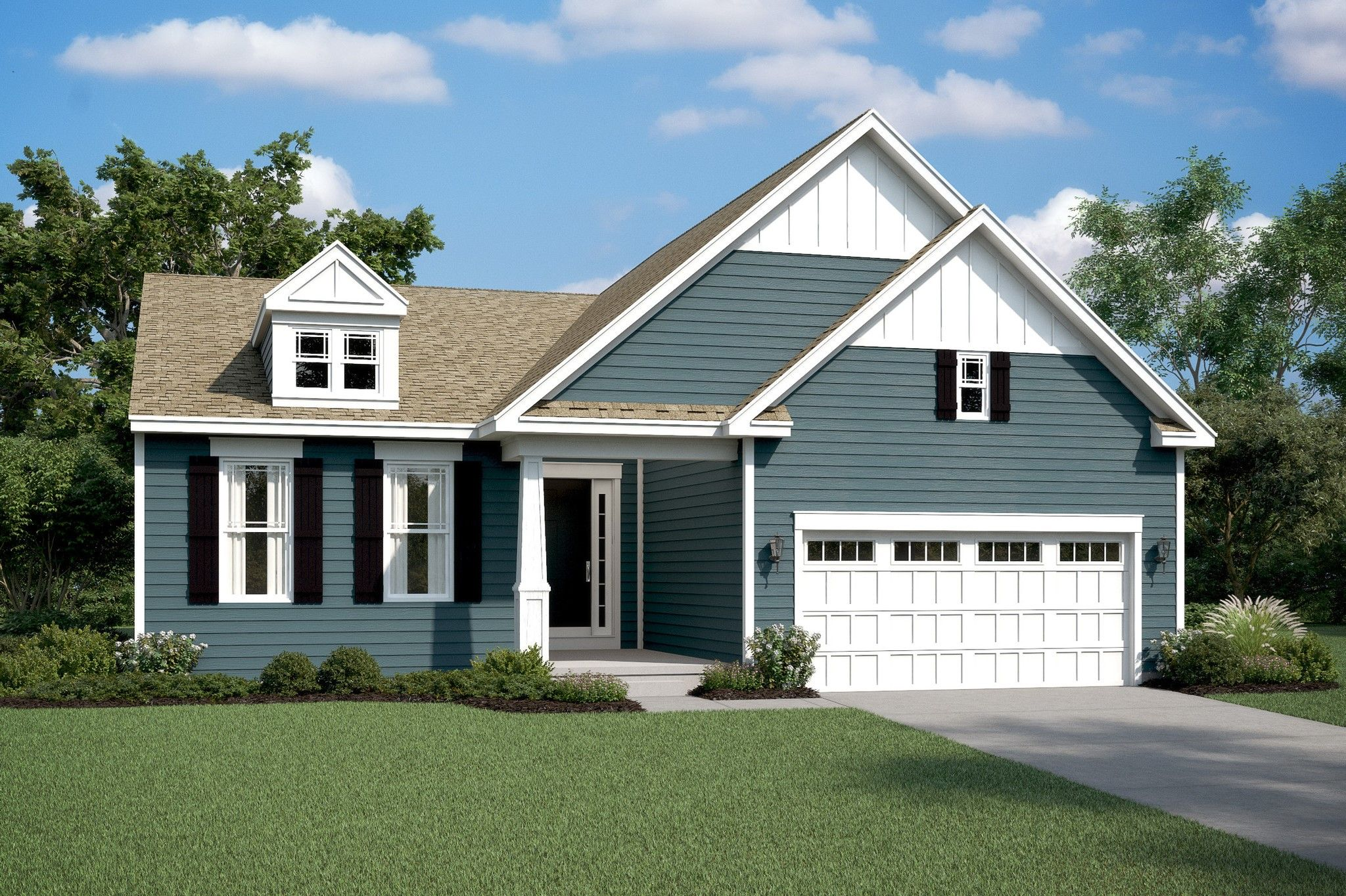 Exterior featured in the Mont Blanc By K. Hovnanian's® Four Seasons in Sussex, DE
