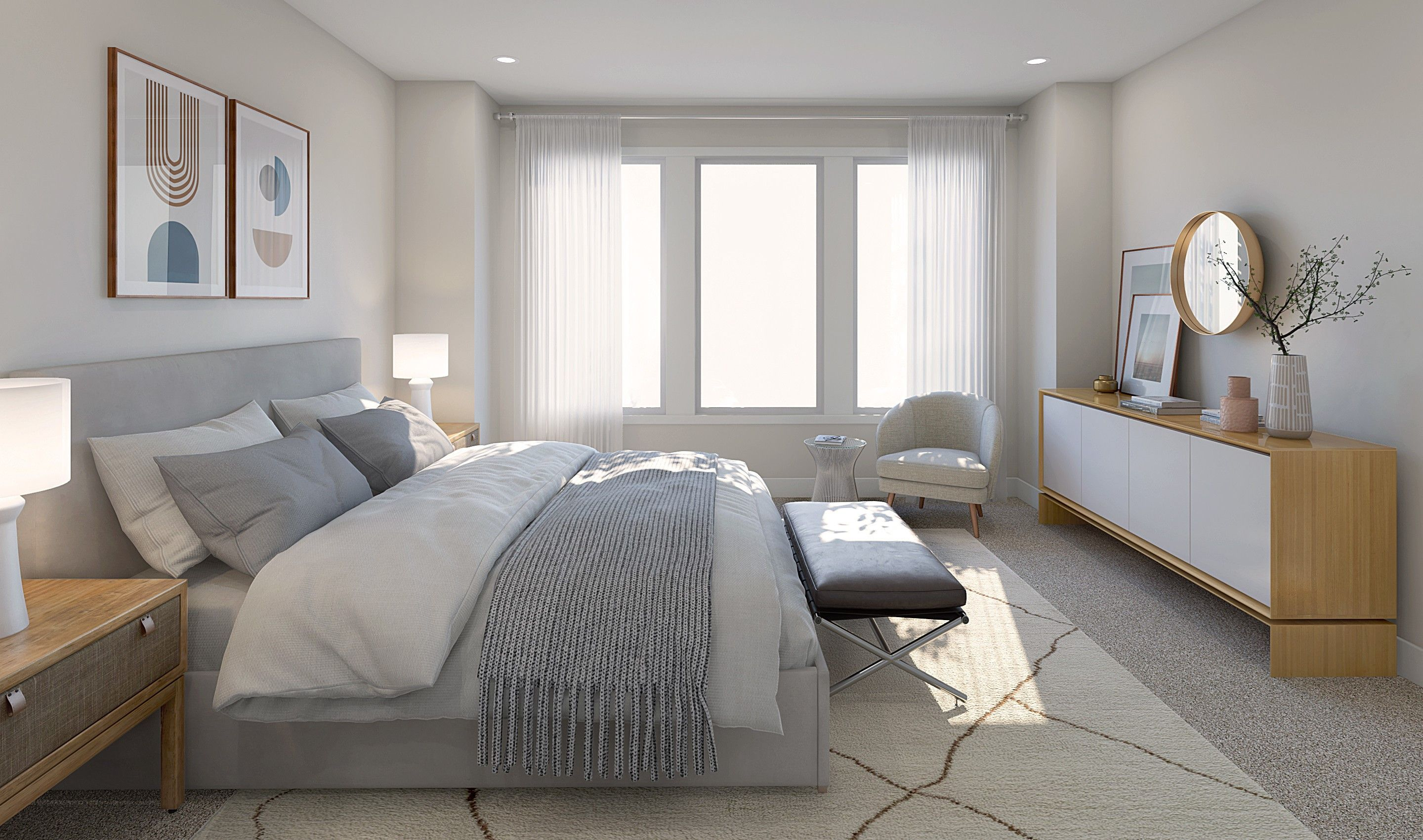 Bedroom featured in the Bowdoin II By K. Hovnanian® Homes in Monmouth County, NJ