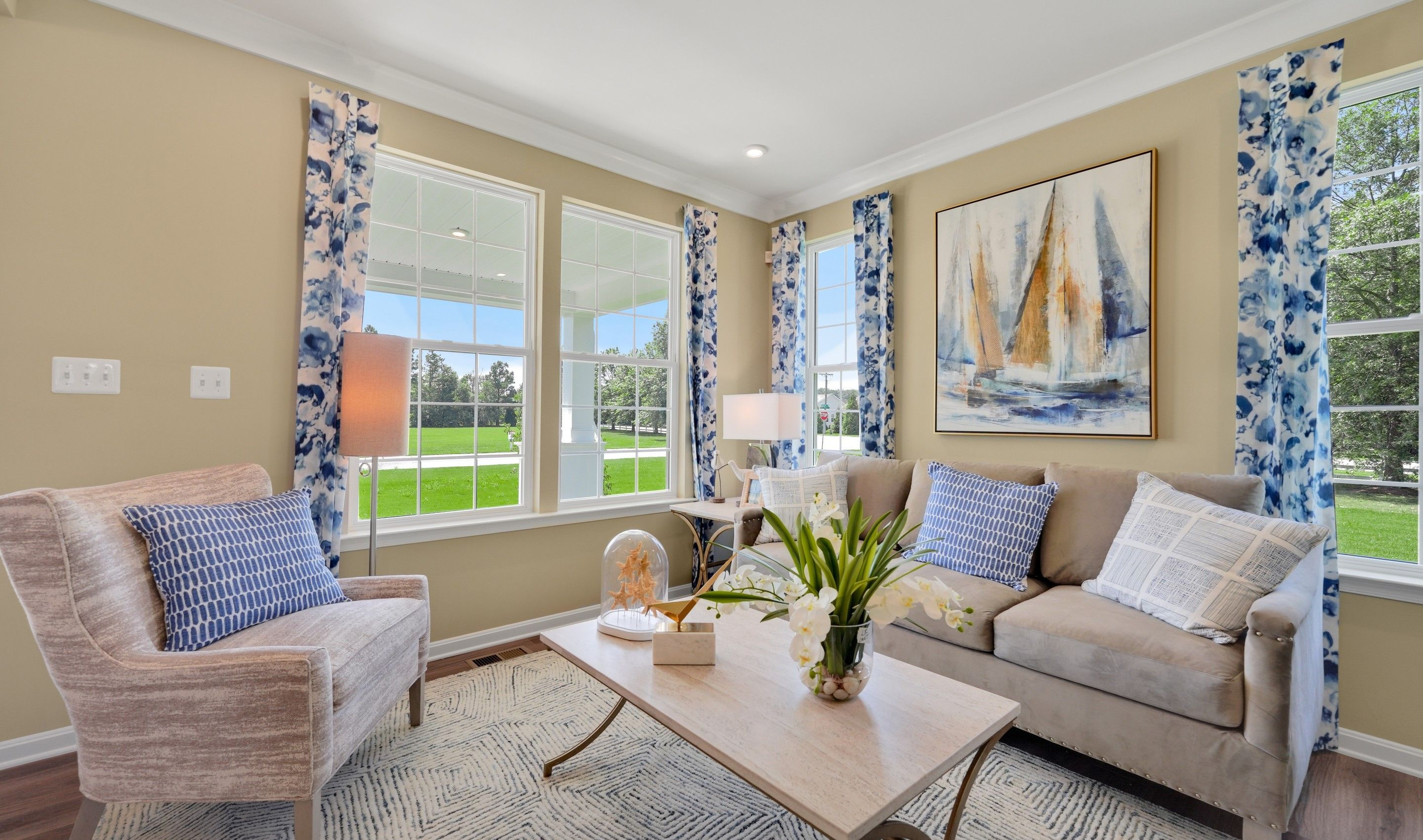 Living Area featured in the Delaware II By K. Hovnanian® Homes in Dover, DE