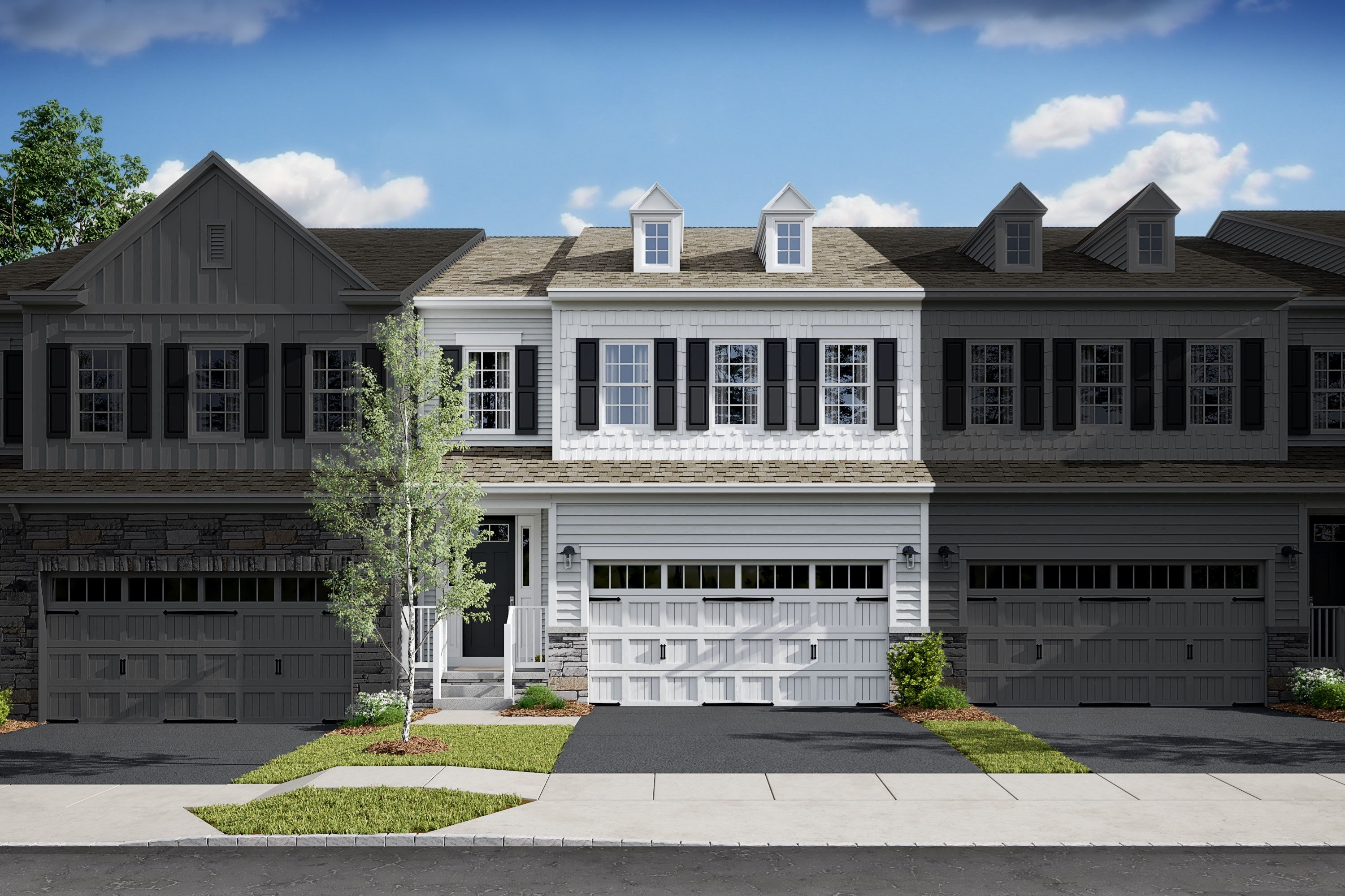 Exterior featured in the Haverford By K. Hovnanian® Homes in Bergen County, NJ