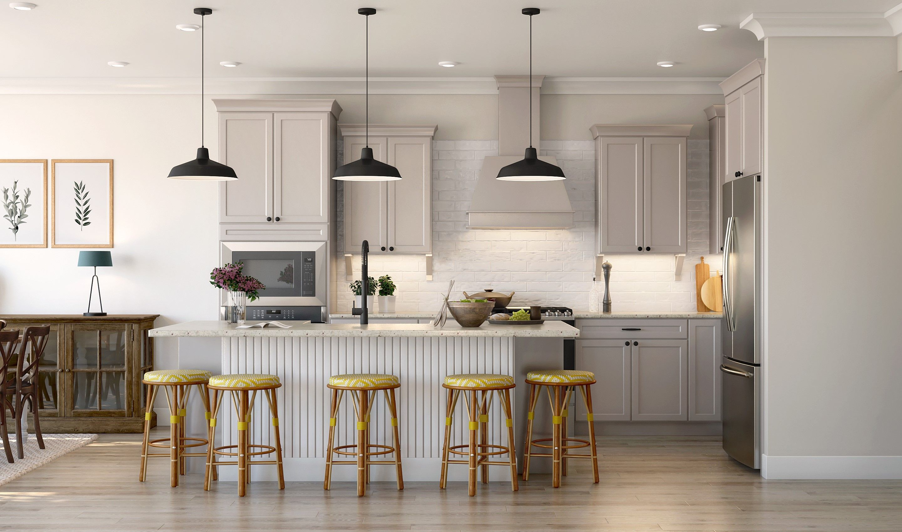 Kitchen featured in the Haverford By K. Hovnanian® Homes in Bergen County, NJ