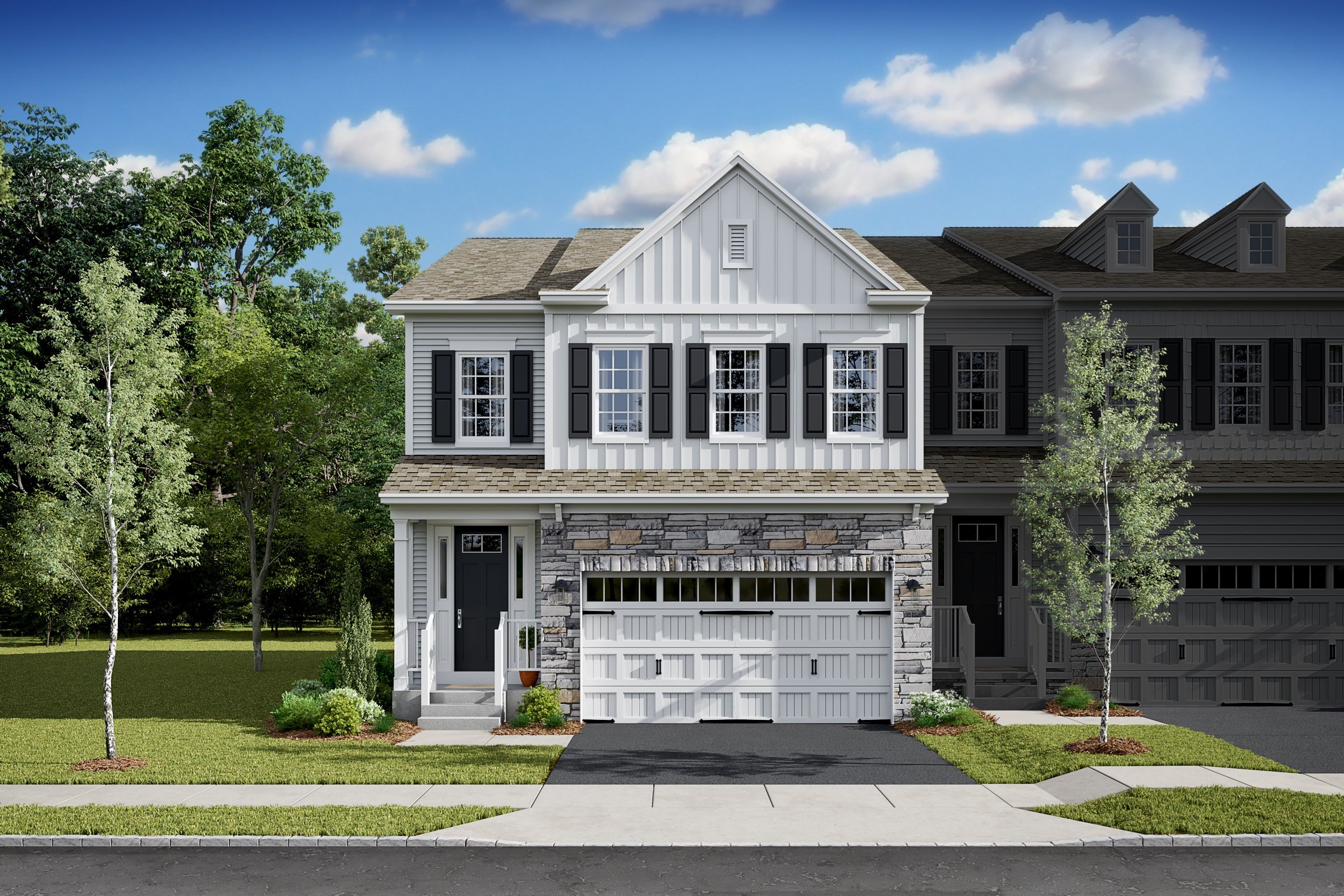 Exterior featured in the Howard By K. Hovnanian® Homes in Bergen County, NJ
