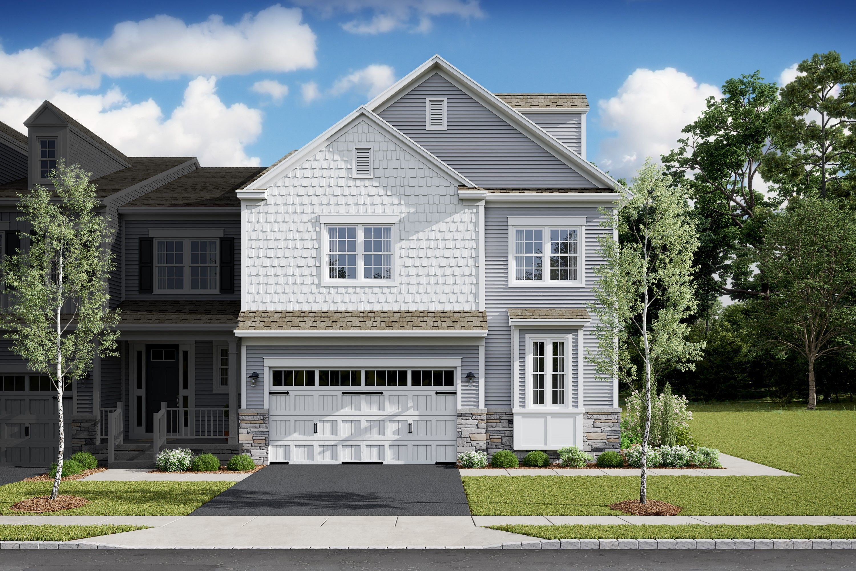 Exterior featured in the Colby By K. Hovnanian® Homes in Bergen County, NJ