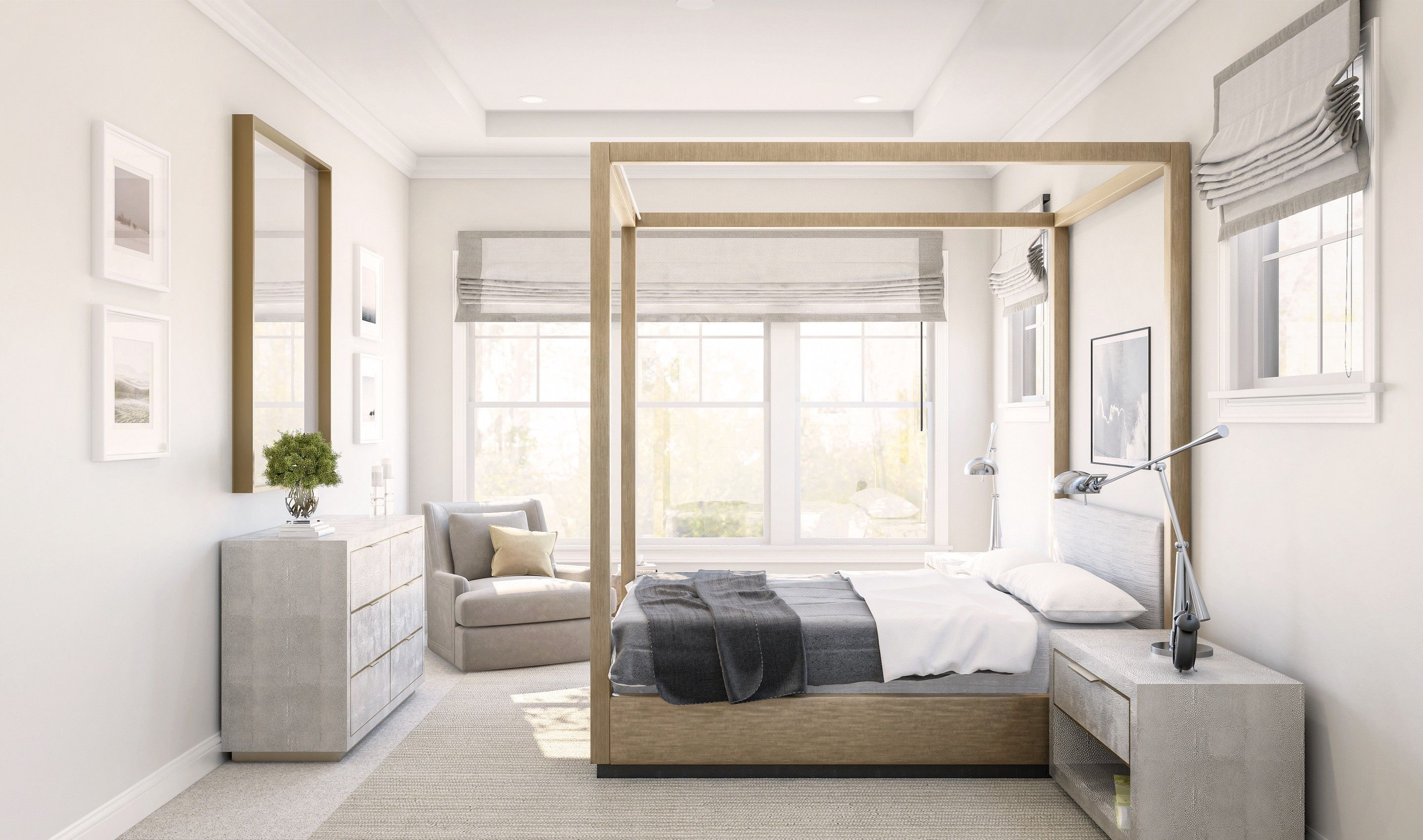 Bedroom featured in the Dorchester By K. Hovnanian's® Four Seasons in Monmouth County, NJ