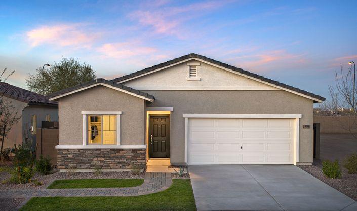 celebration exterior new homes at aspire at montana vista aspot