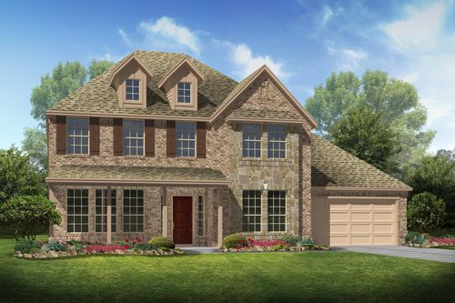 East Meadow Place By K HovnanianR Homes In Houston Texas