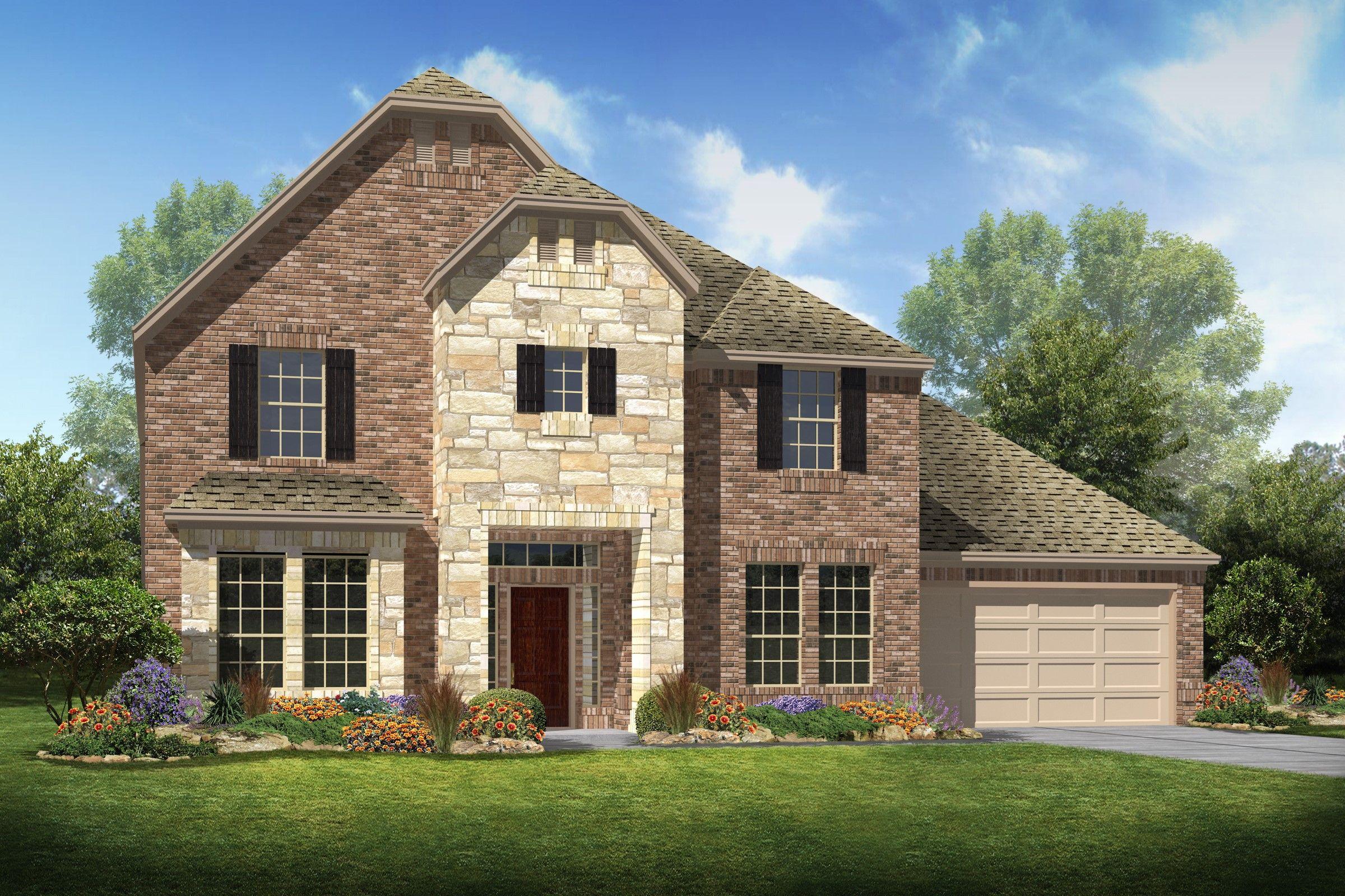 Sellers Station in Baytown TX New Homes Floor Plans by K
