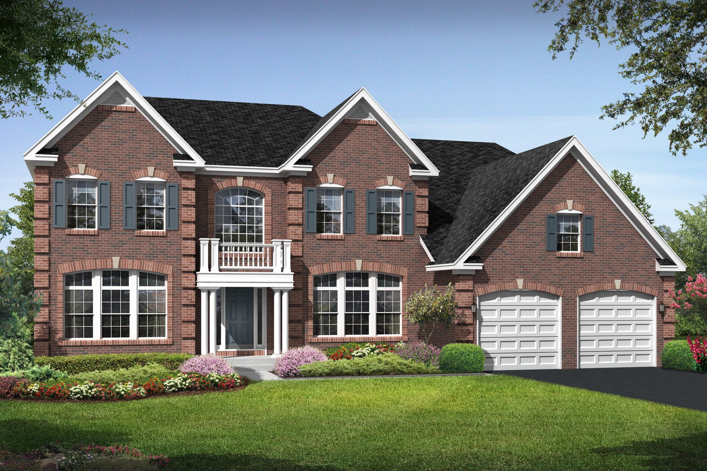 K hovnanian homes floor plans virginia for Virginia house plans