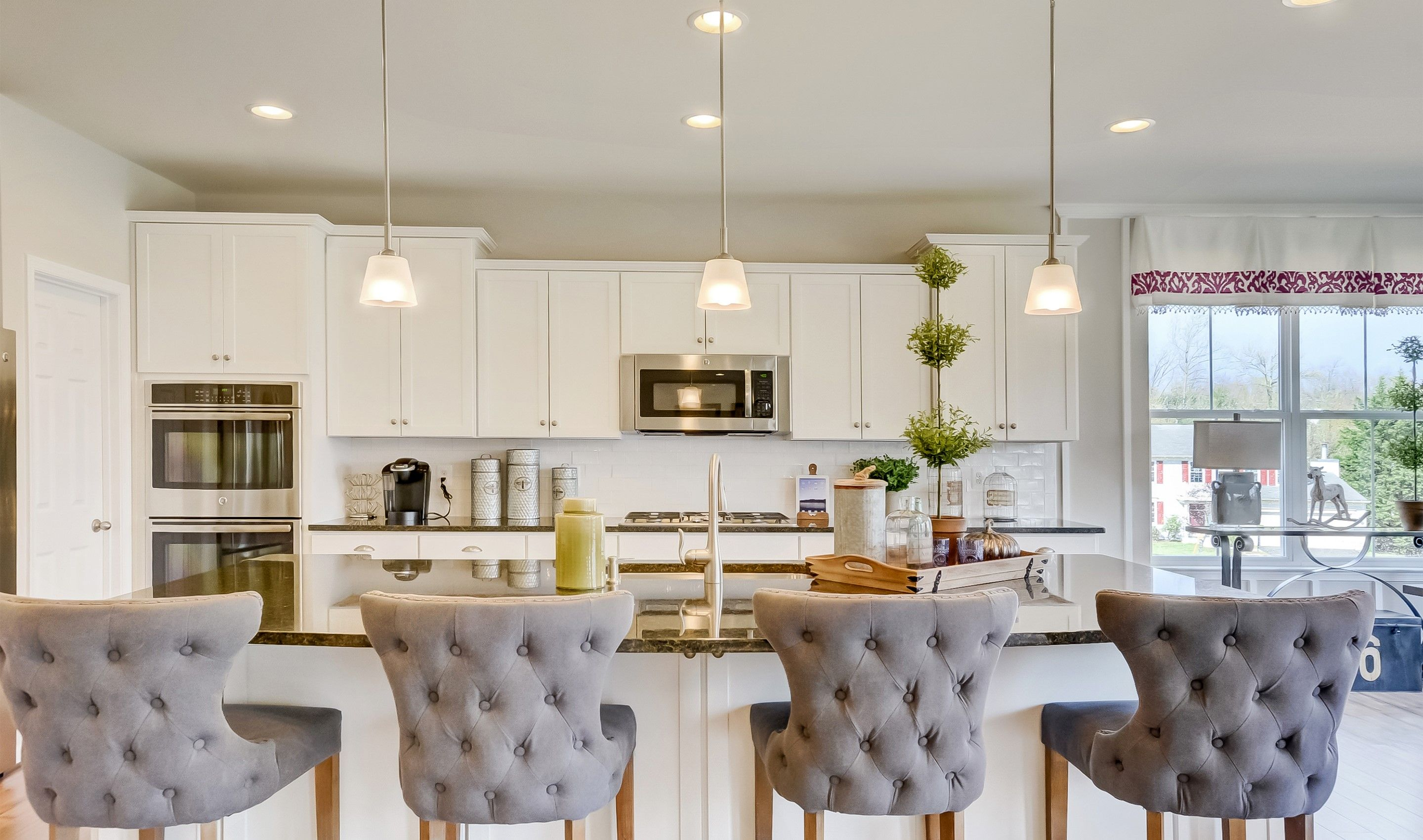 Kitchen featured in the Alaska II By K. Hovnanian® Homes in Washington, VA