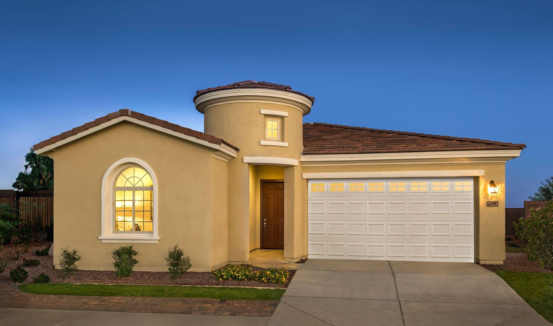 grace exterior affinity at verrado new homes buckeye az