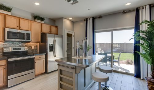 Kitchen-in-Carnival-at-Aspire at Sienna Hills-in-Buckeye