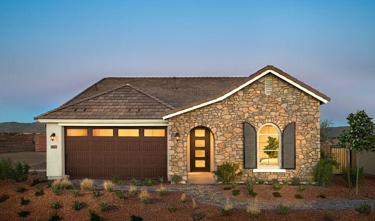 indigo exterior fusion new homes peoria arizona