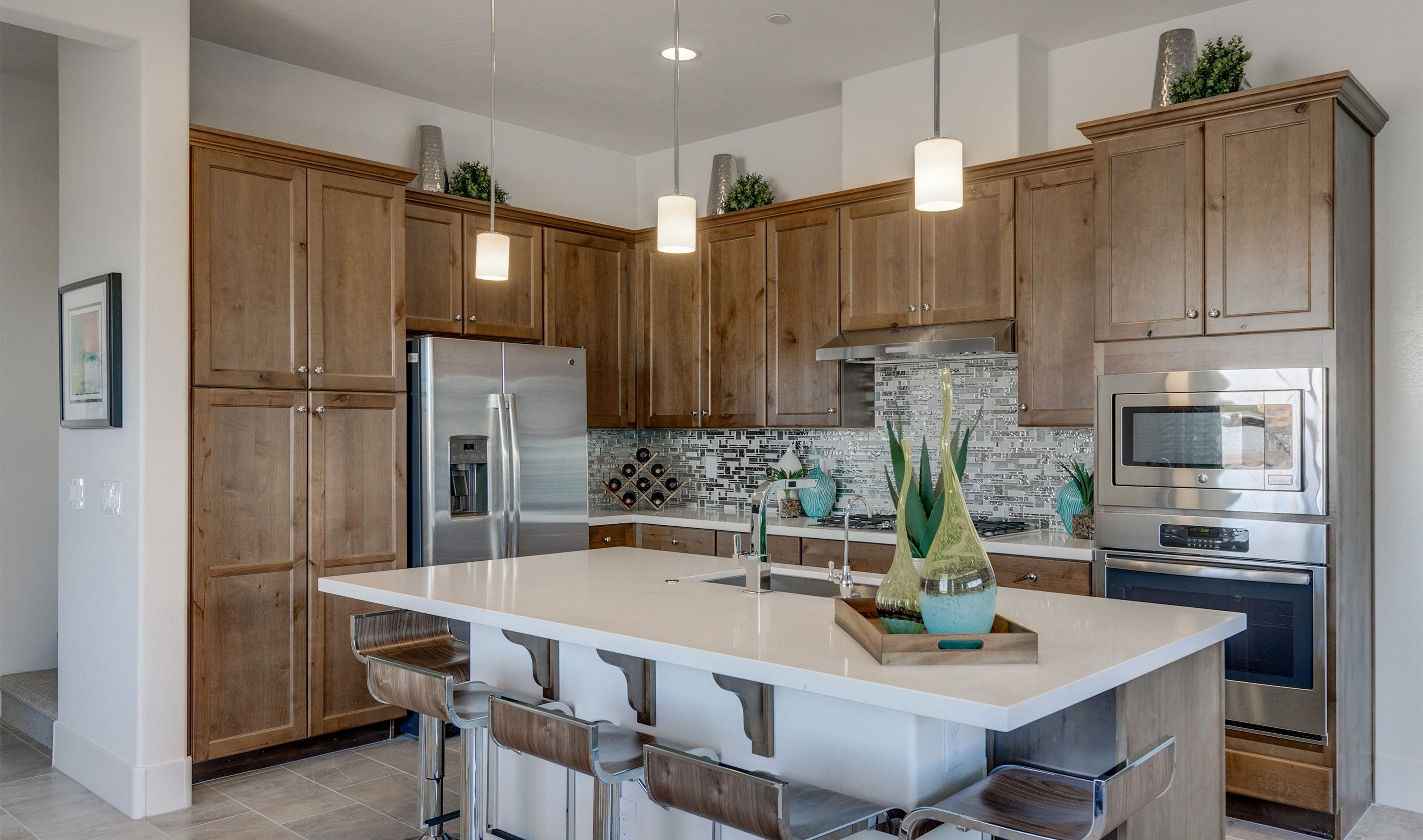 Kitchen-in-Camelback-at-Pinnacle at Silverstone-in-Scottsdale