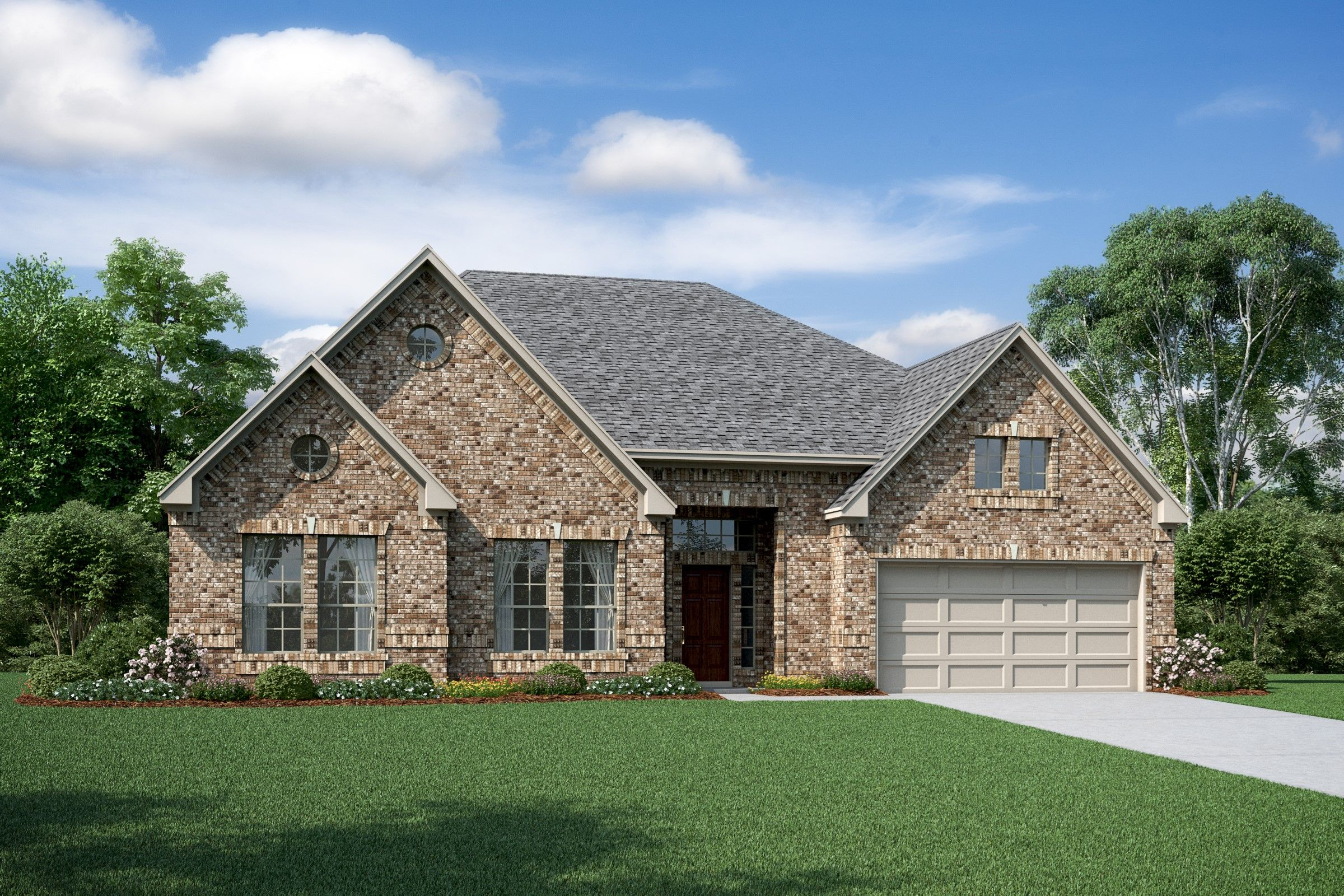 Exterior featured in the Samuel By K. Hovnanian® Homes in Houston, TX