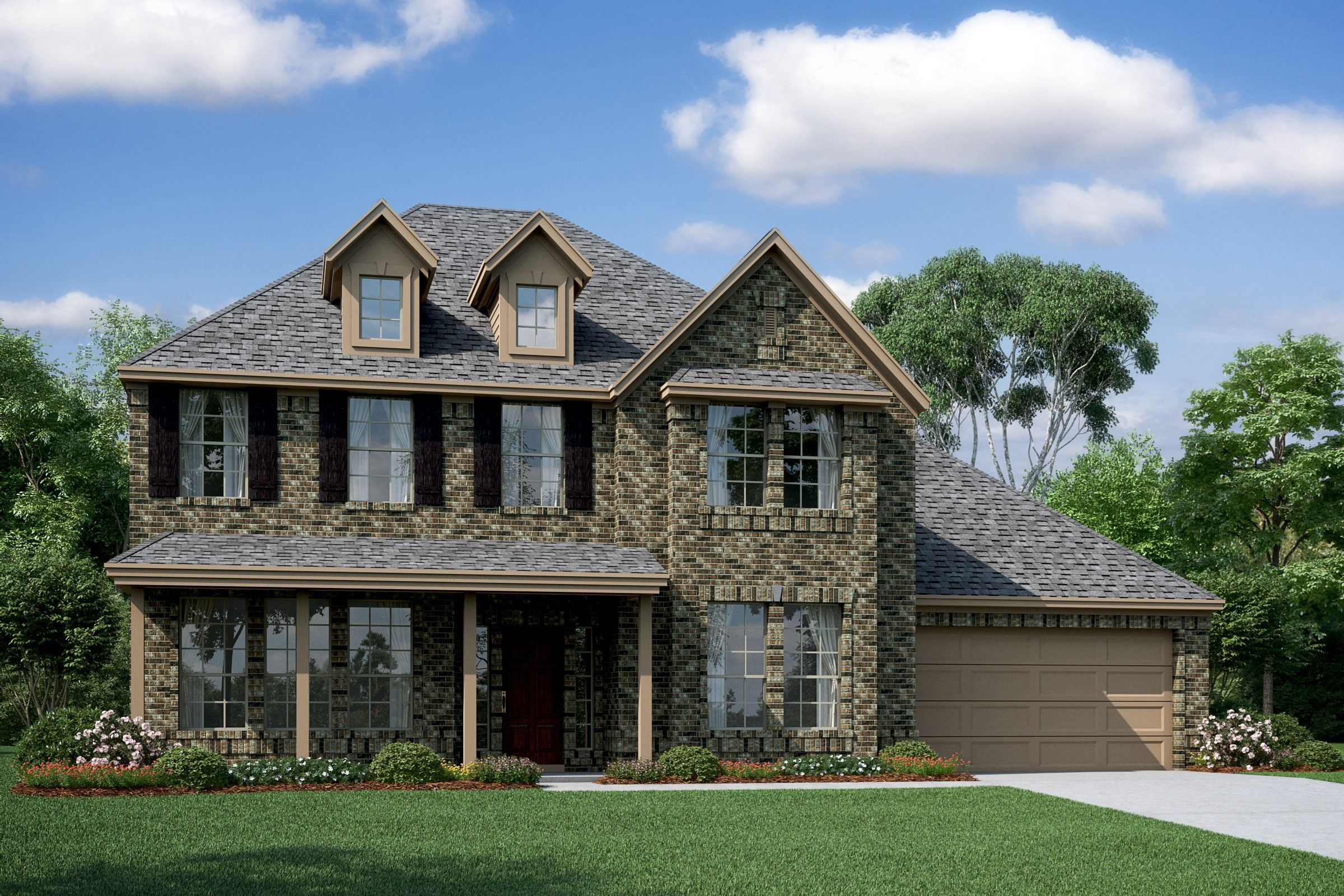 Exterior featured in the Millie By K. Hovnanian® Homes in Houston, TX