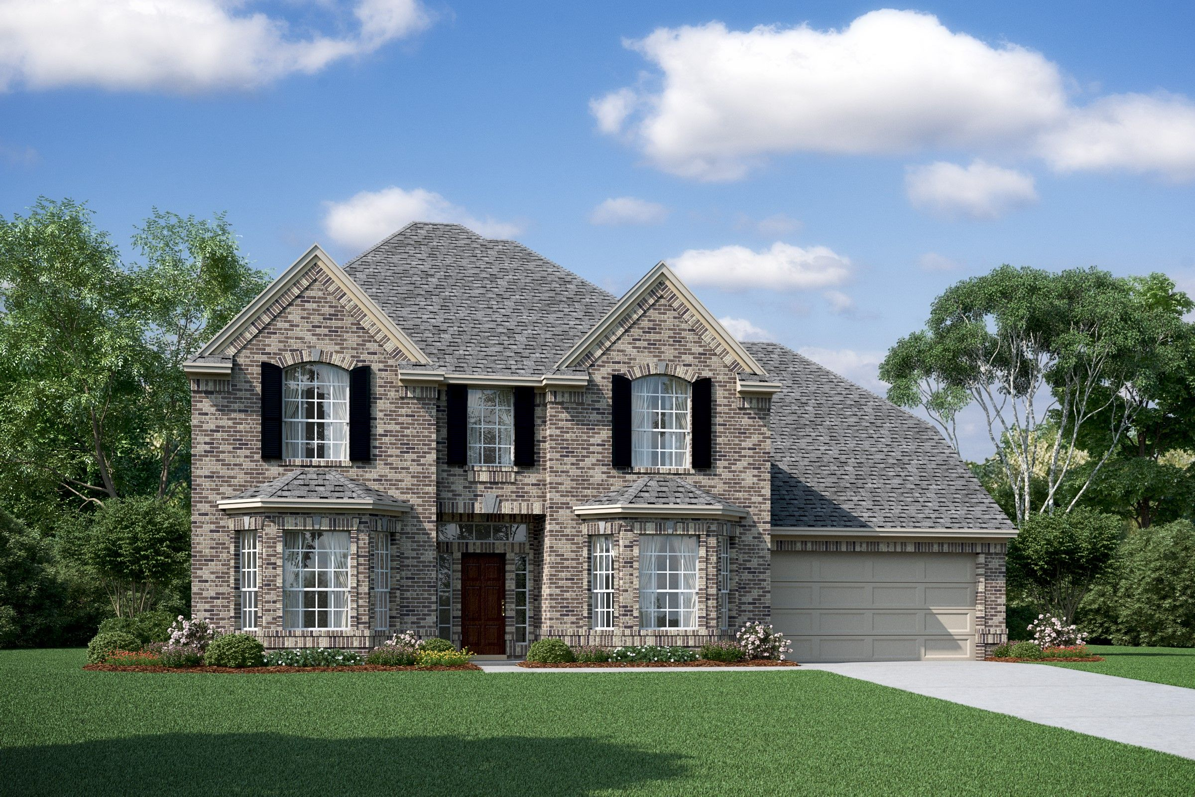 Exterior featured in the Jonathan By K. Hovnanian® Homes in Houston, TX