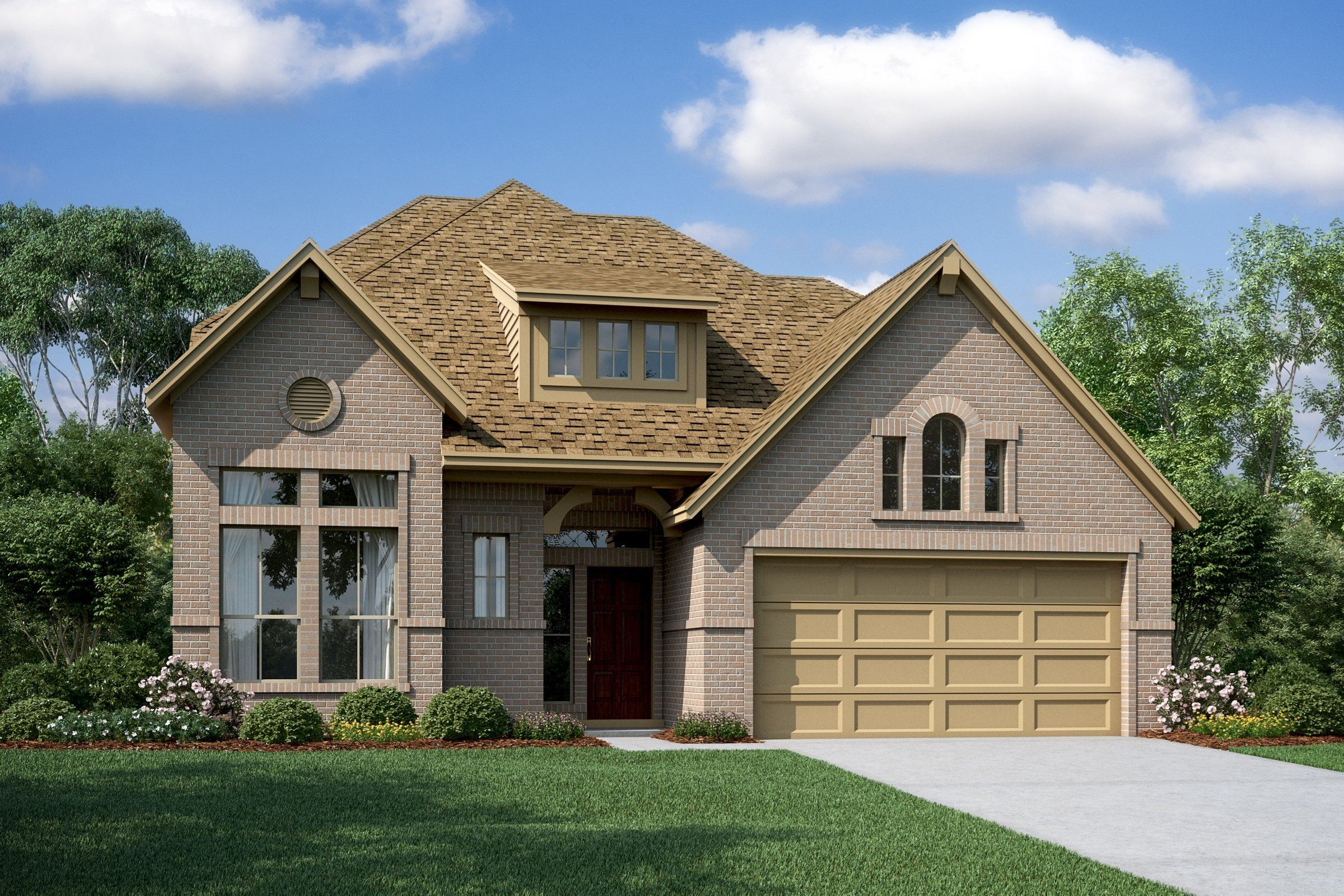 Exterior featured in the Sawyer II By K. Hovnanian® Homes in Houston, TX