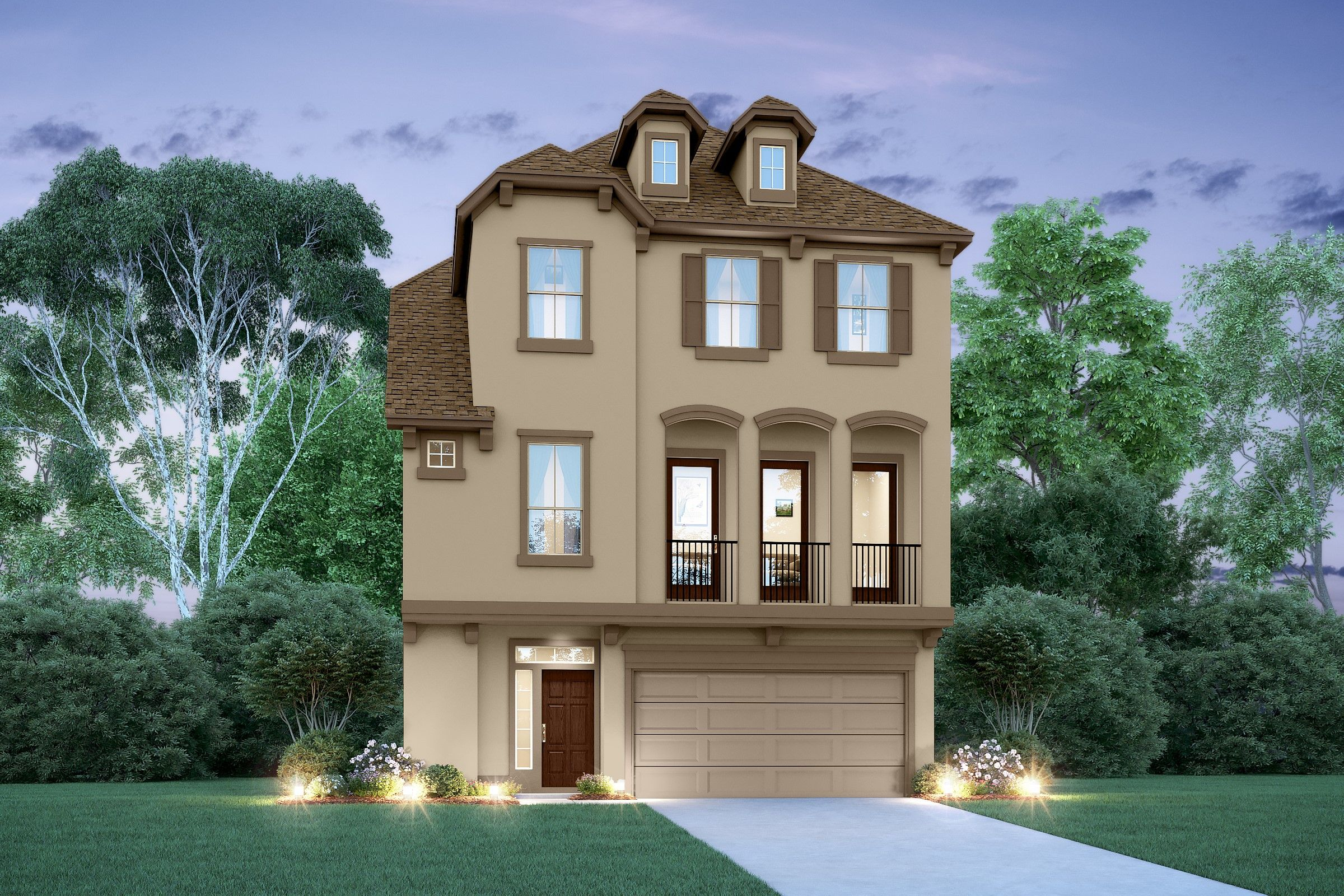 Christopher david homes floor plans for Lee signature homes