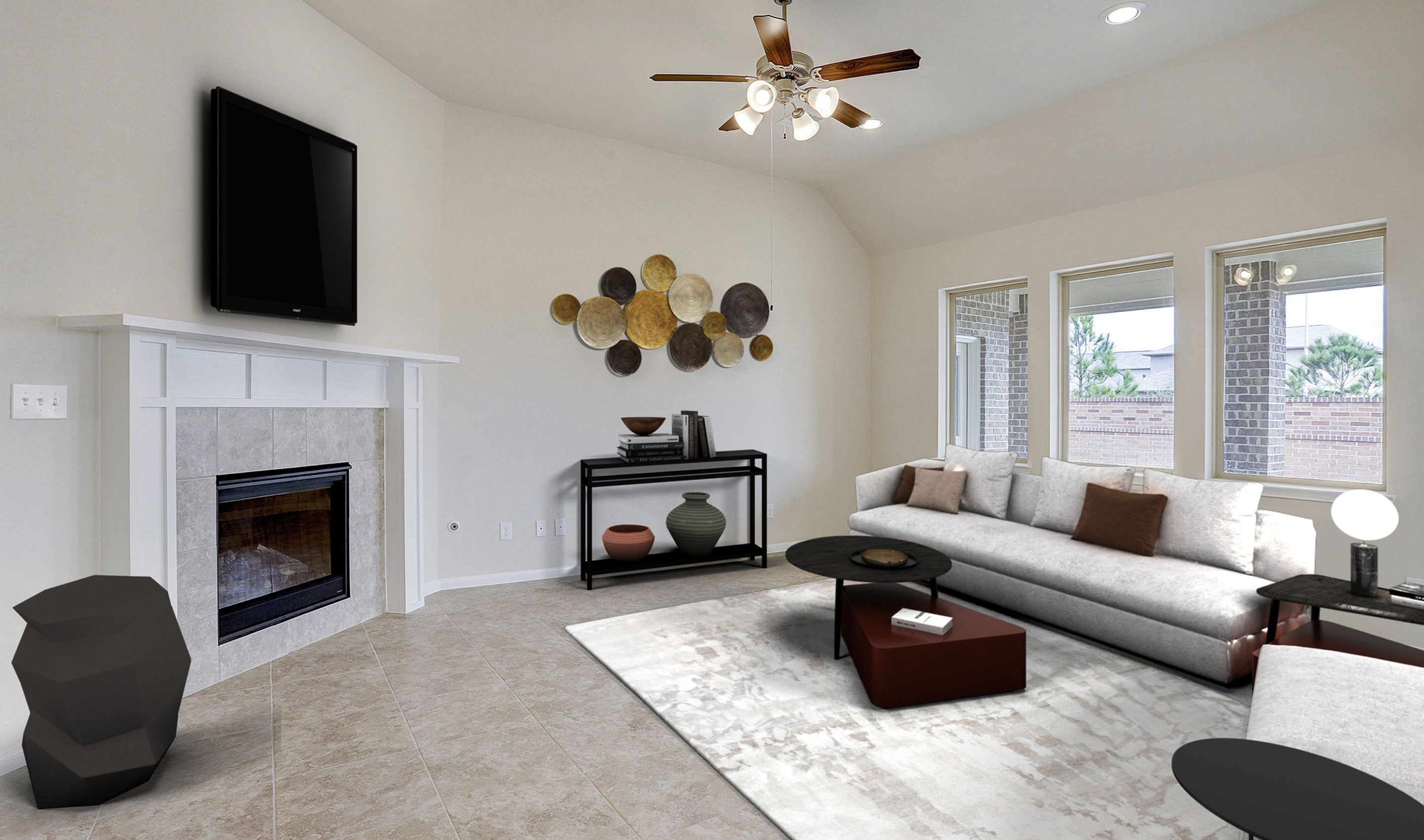Living Area featured in the Tuscany II By K. Hovnanian® Homes in Houston, TX